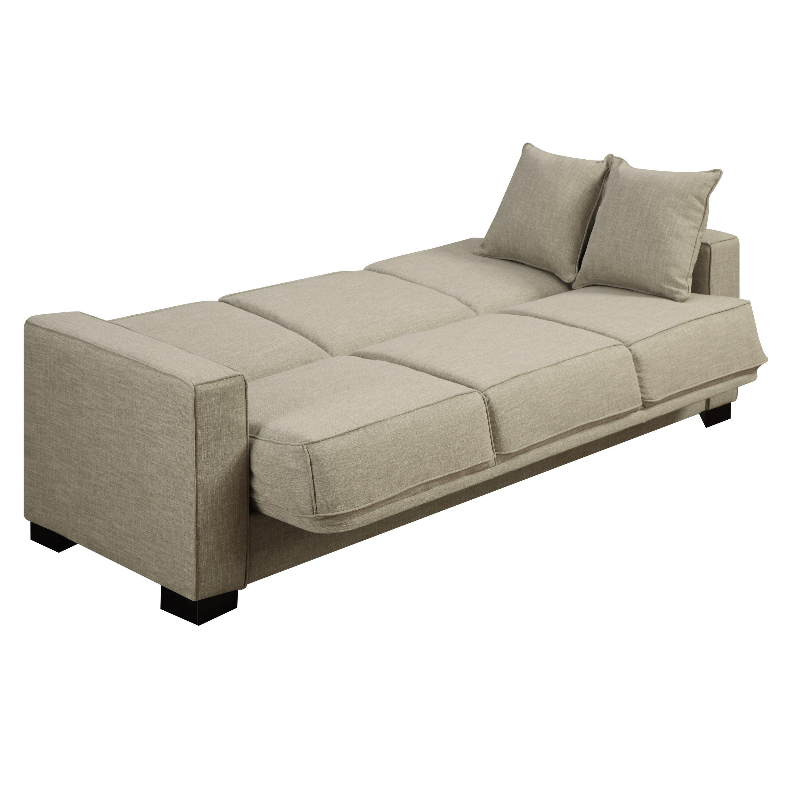 Kaylee Full Convertible Sleeper Sofa Wayfair