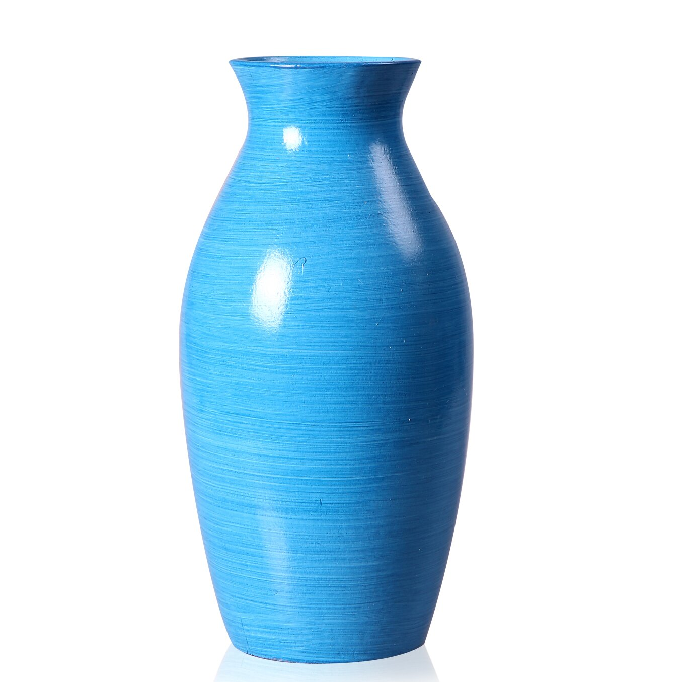 Wood Vase Wayfair