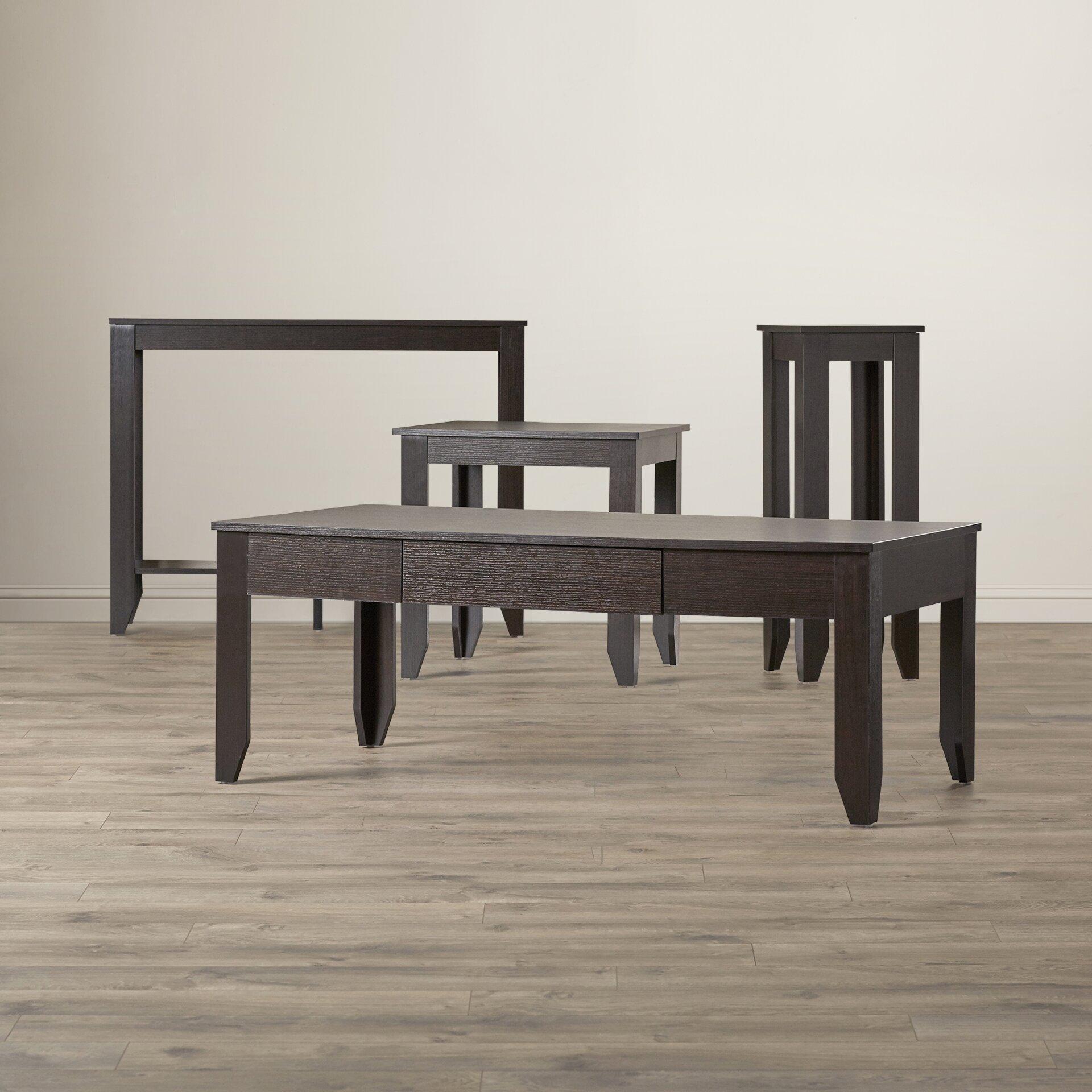 Kaylee 4 Piece Coffee Table Set Wayfair