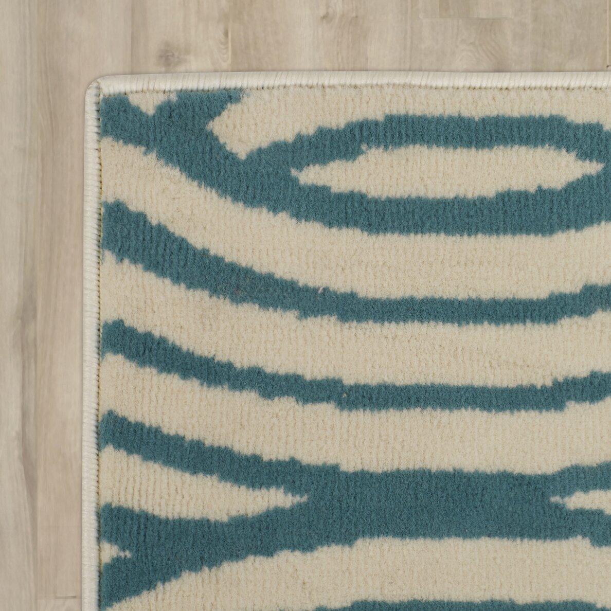 Zipcode™ Design Lucia Aqua/Gray Indoor/Outdoor Area Rug