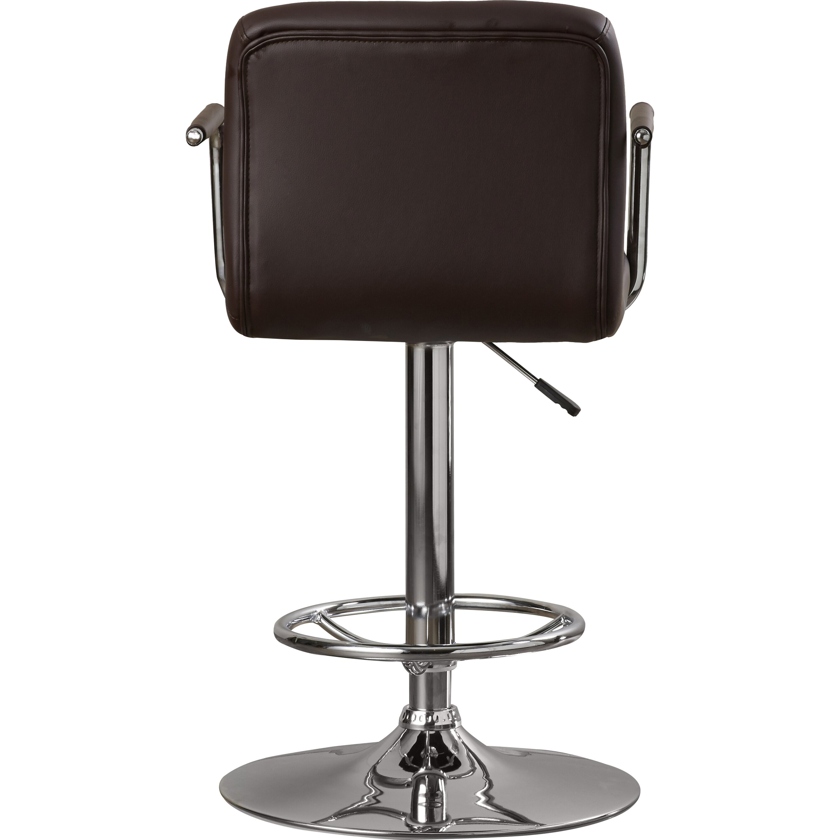 Faith Adjustable Height Swivel Bar Stool Wayfair