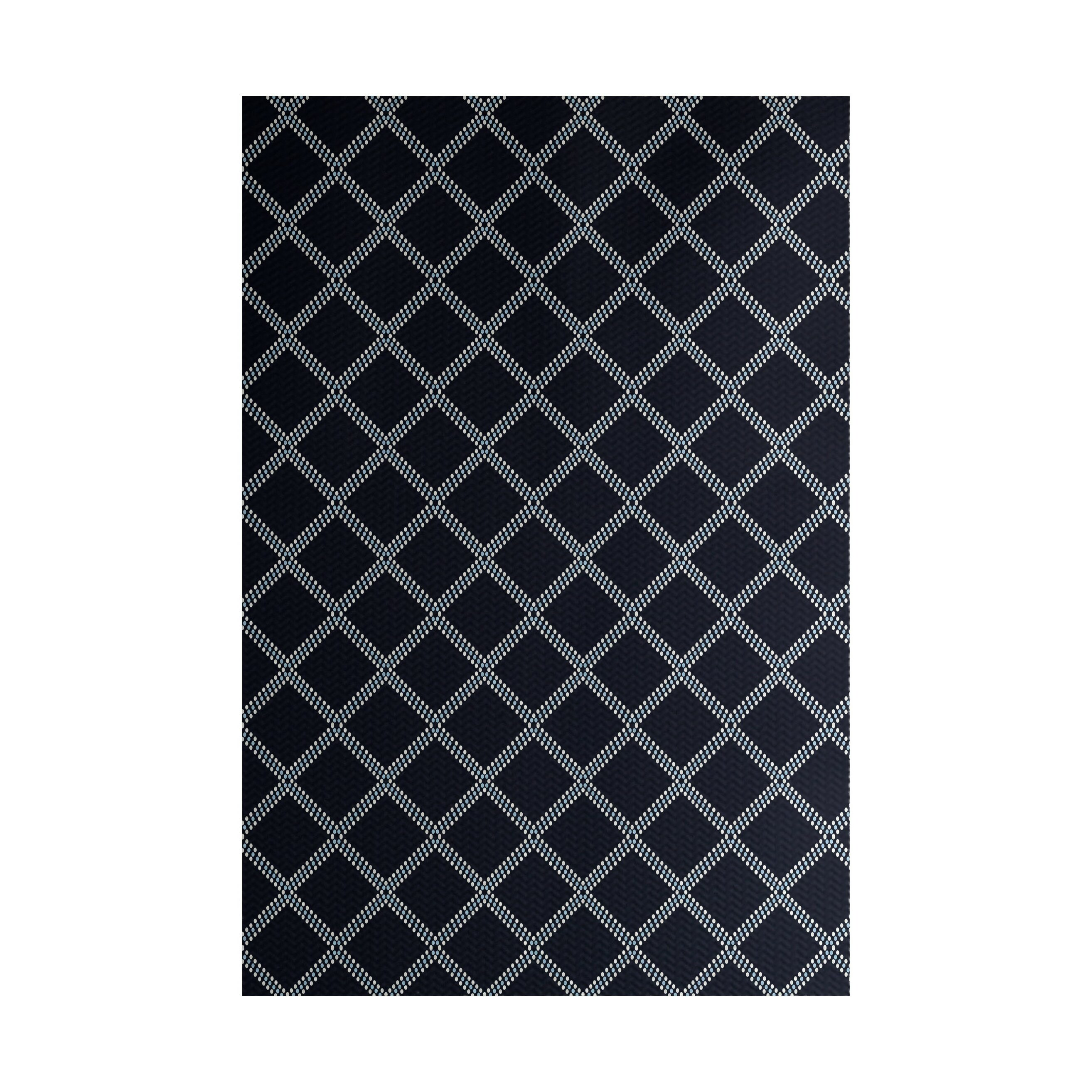 Blue Indoor Outdoor Area Rug
