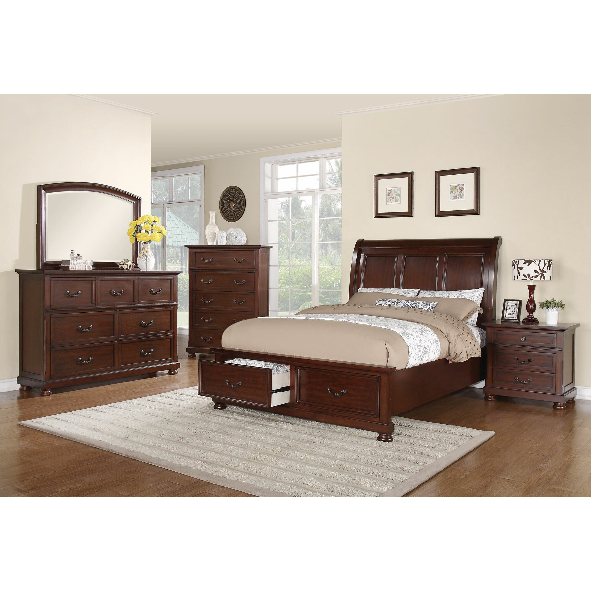 Wildon Home Nicole Platform Customizable Bedroom Set Reviews Wayfair