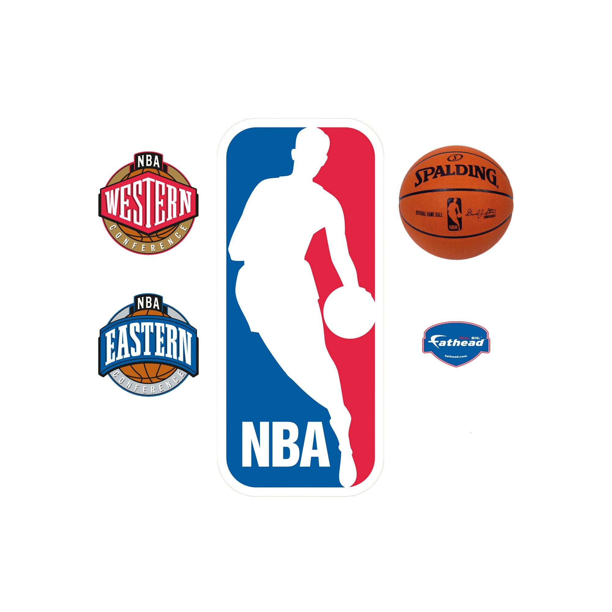 Lovely NBA Wall Decals - Home Design #936