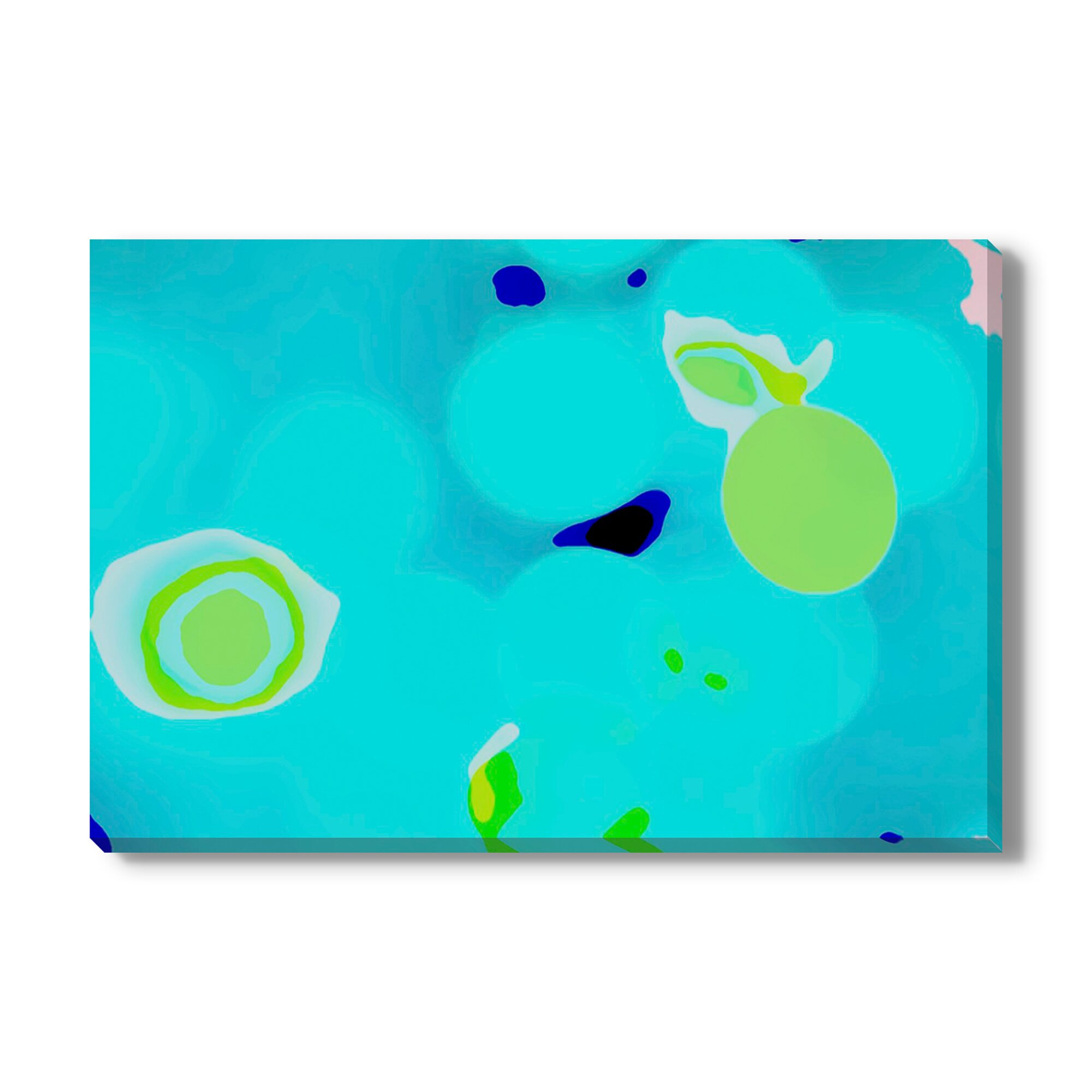 Gallery Direct Blue Bird On Lime Tree By Christine
