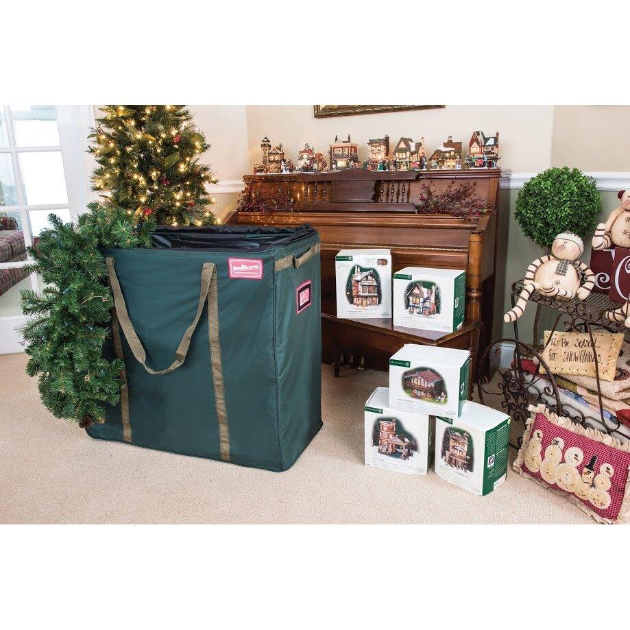 Premium Christmas Village And Decor Multi Use Rolling