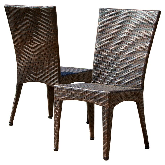 ... Furniture ... Wicker/Rattan Patio Dining Chairs Home Loft Concepts SKU