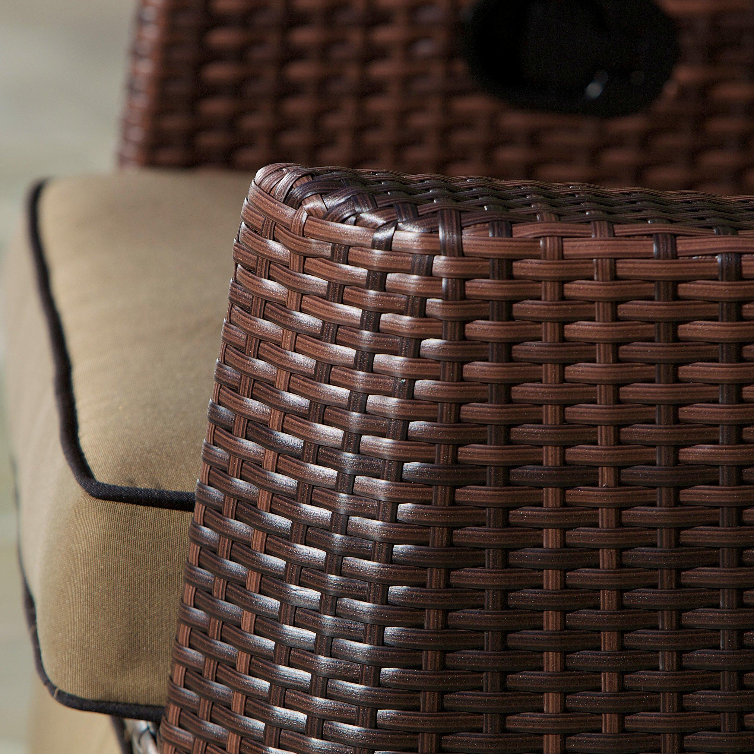 Pe Wicker: Home Loft Concepts Cartegena PE Wicker Recliner & Reviews