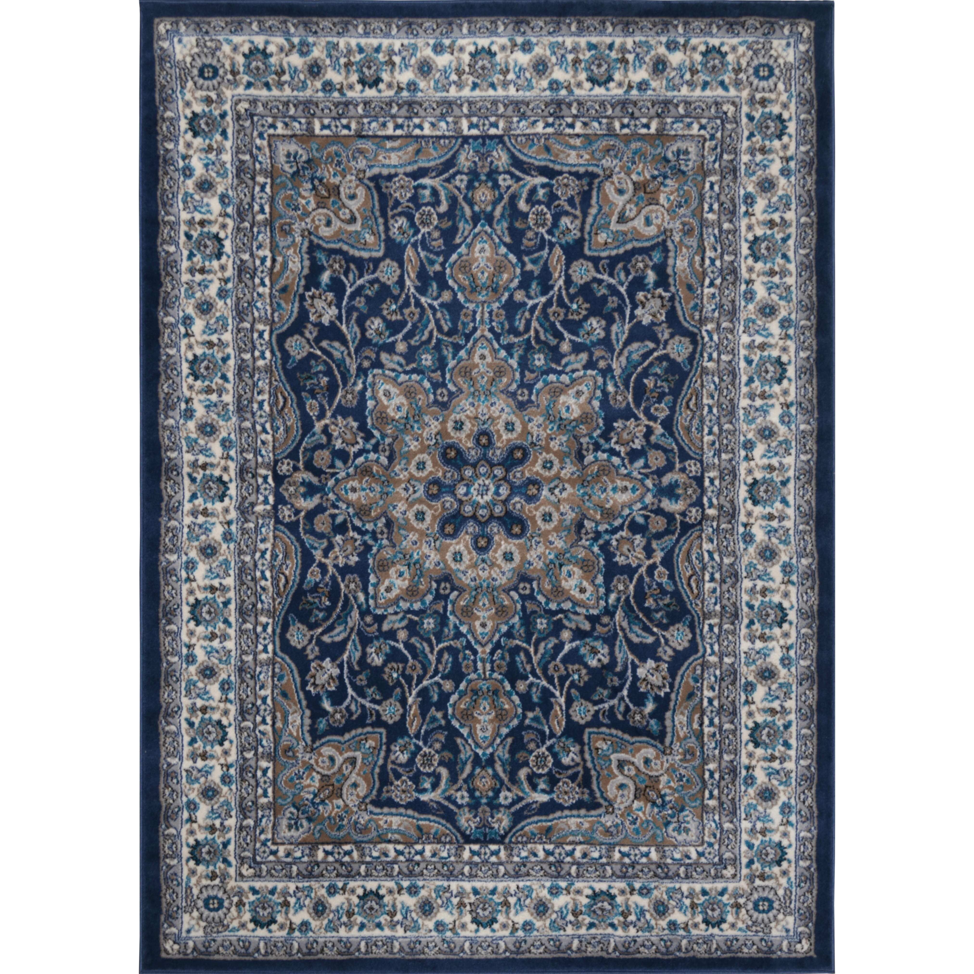 Andover mills tremont fuller navy blue area rug reviews for Dining room rugs 9x12