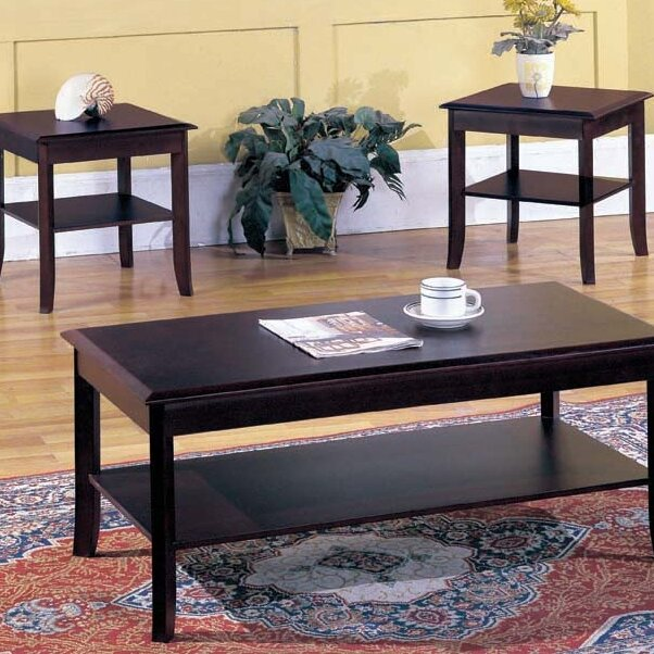 Veropeso 3 Piece Coffee Table Set: Andover Mills Jessica 3-Piece Coffee Table Set & Reviews