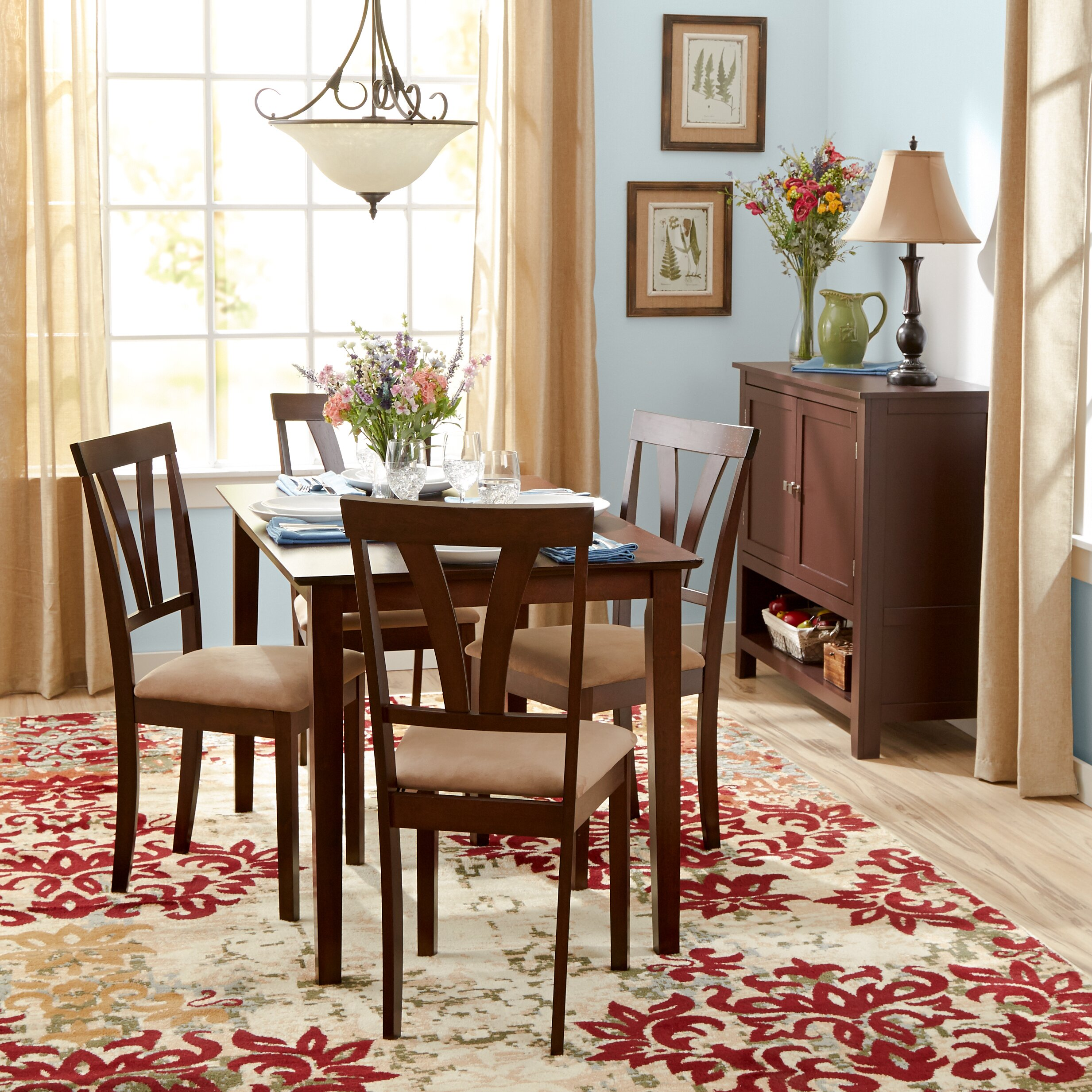 Andover Mills Dorothy 5 Piece Dining Set & Reviews