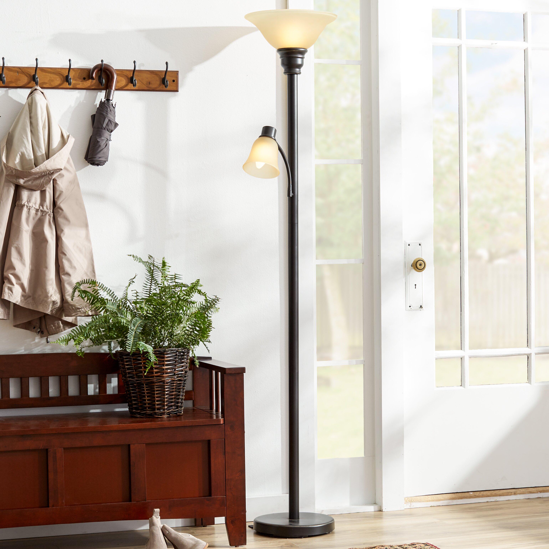 Andover Mills Graham 71 Quot Torchiere Floor Lamp Amp Reviews
