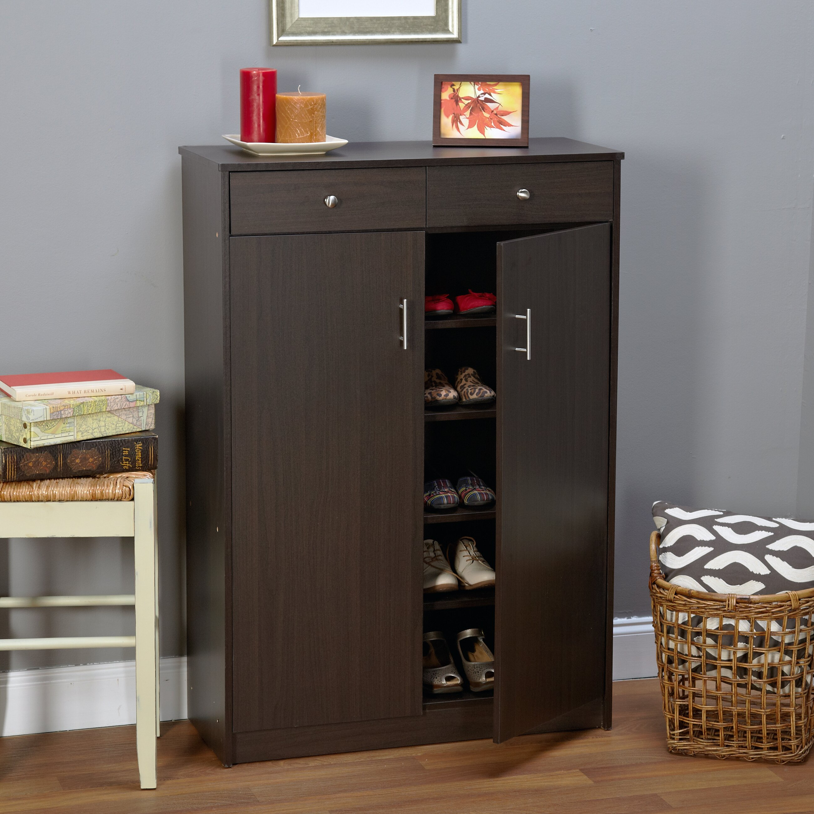 Andover Mills Shoe Cabinet & Reviews   Wayfair