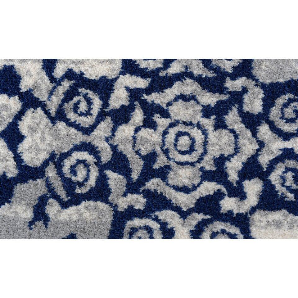 andover mills blue grey area rug reviews. Black Bedroom Furniture Sets. Home Design Ideas