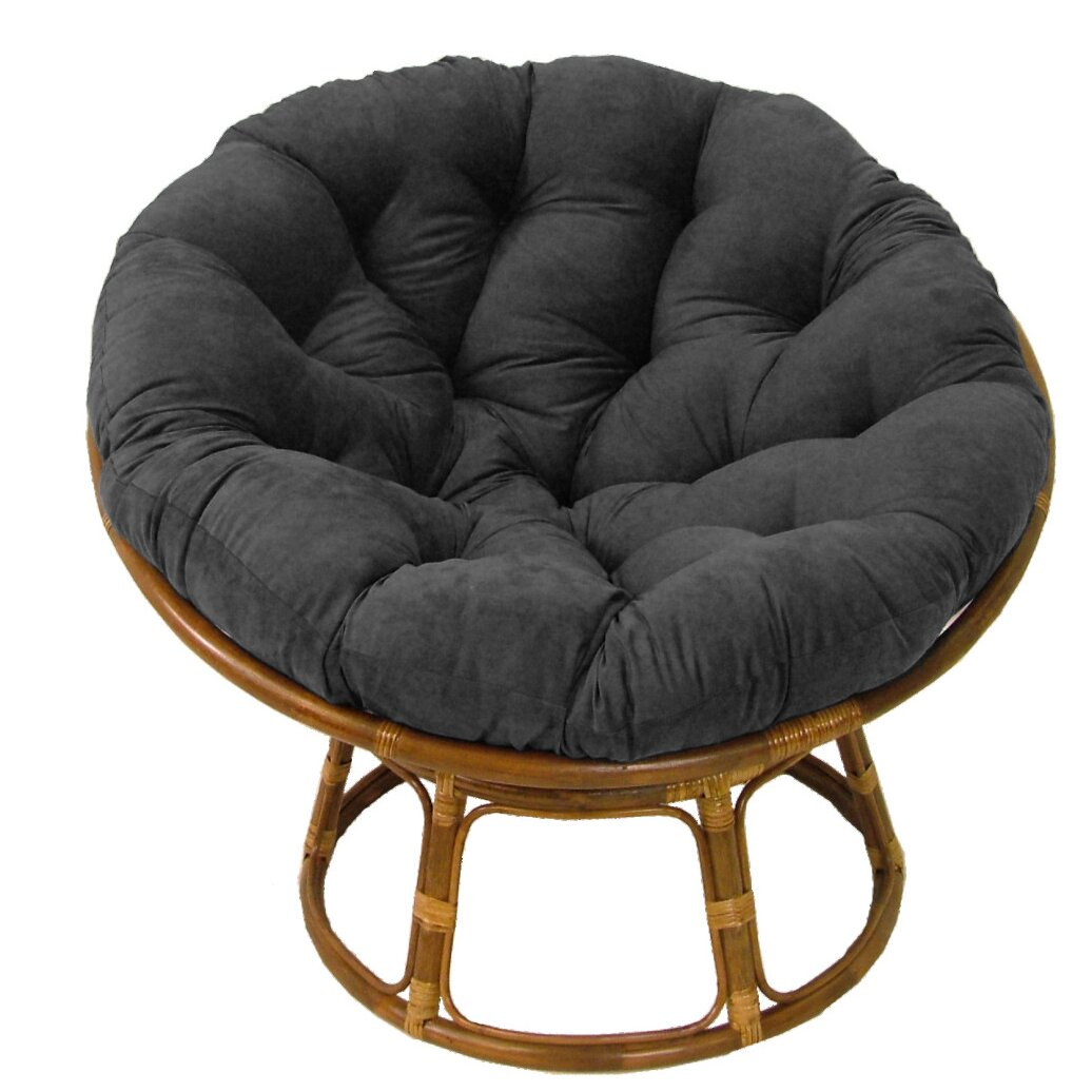 "Andover Mills Deborah 42"" Rattan Papasan Chair with"