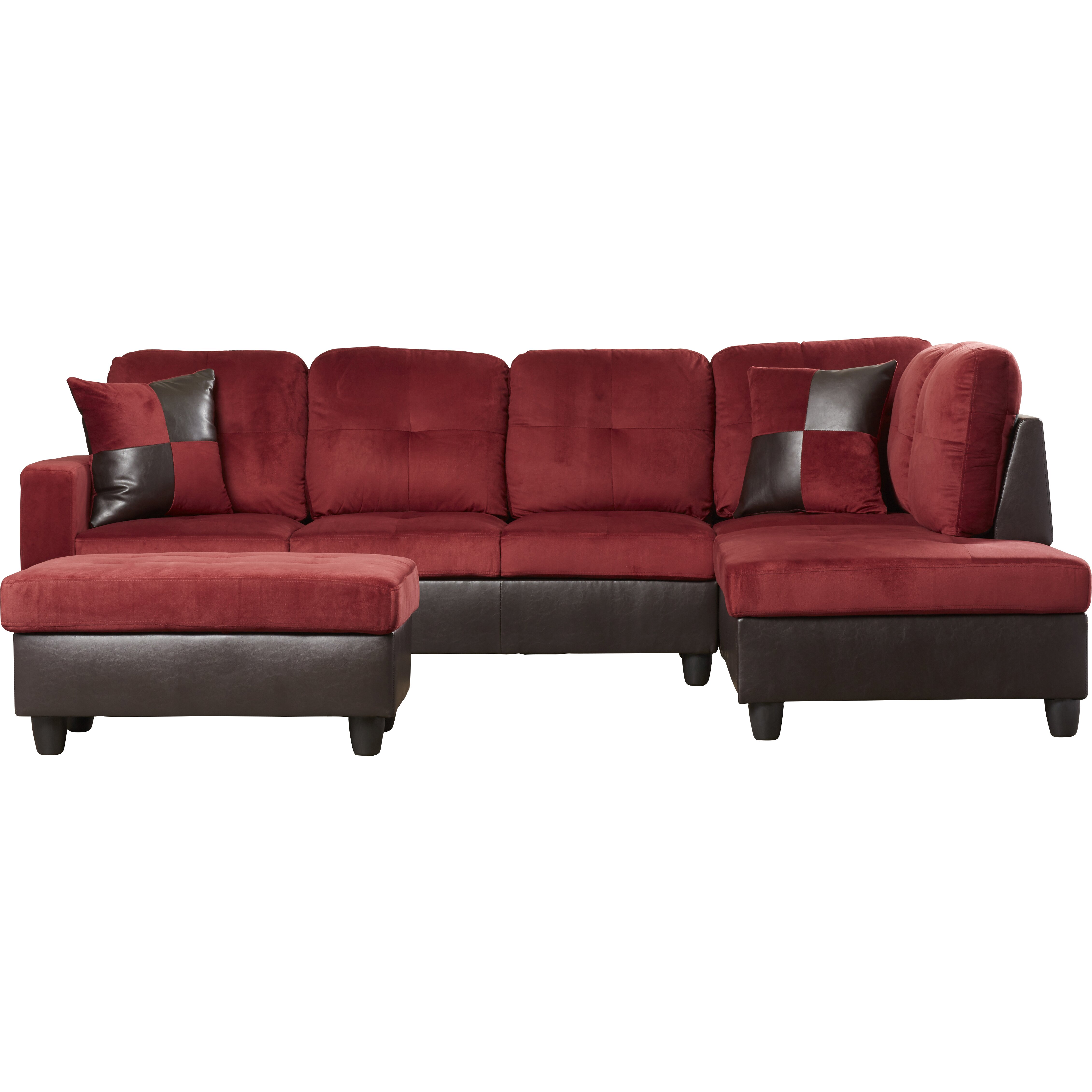Russ Left Chaise Sectional With Storage Ottoman Wayfair
