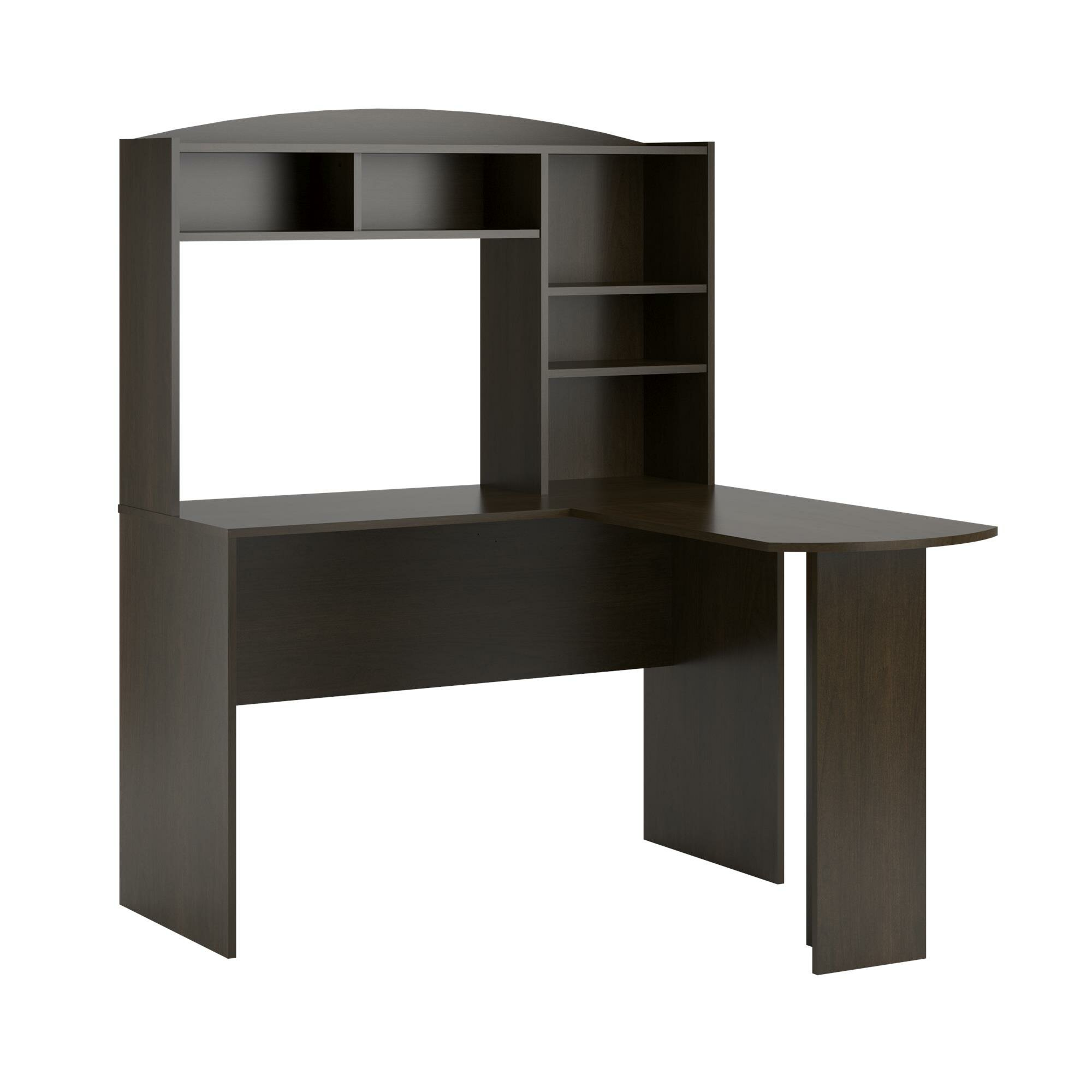 Andover Mills Glen puter Desk with Hutch & Reviews