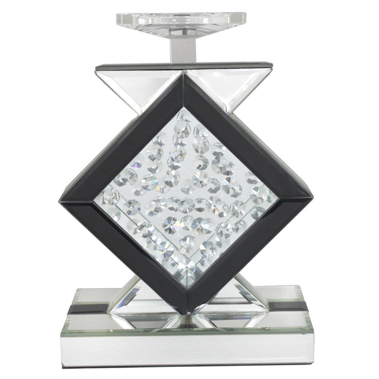 kerzenleuchter winston aus glas von manufacturer. Black Bedroom Furniture Sets. Home Design Ideas