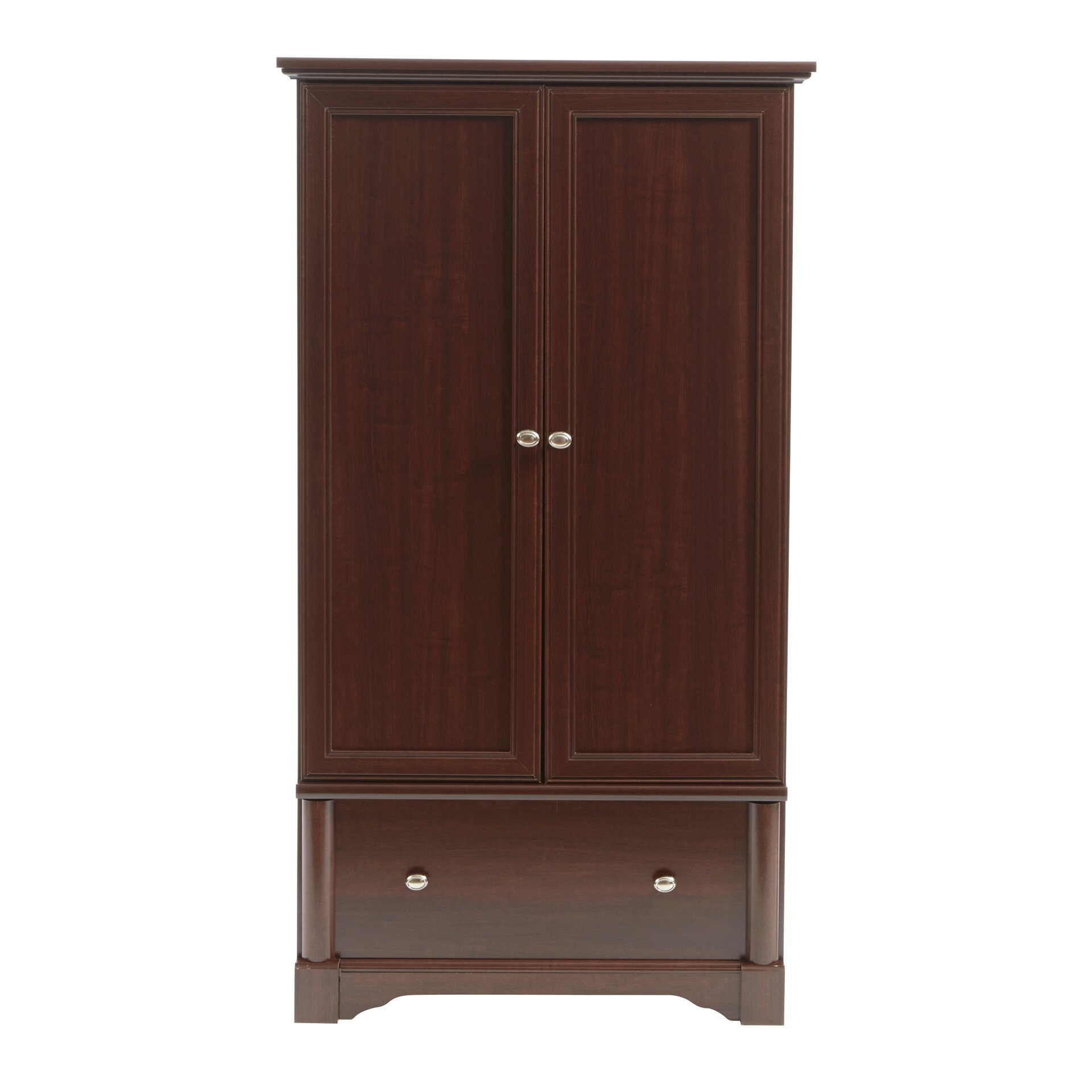 three posts orviston armoire reviews wayfair. Black Bedroom Furniture Sets. Home Design Ideas