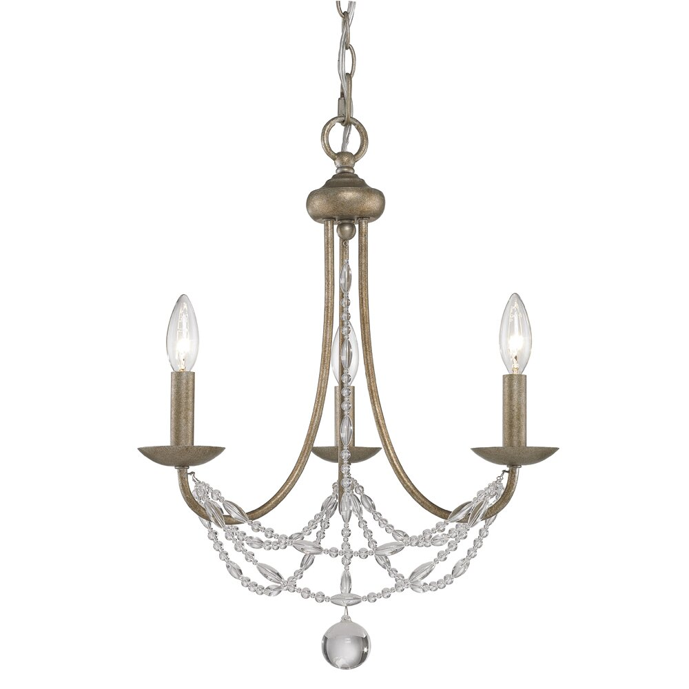 Wayfair Chandelier: Atwood 3 Light Mini Chandelier