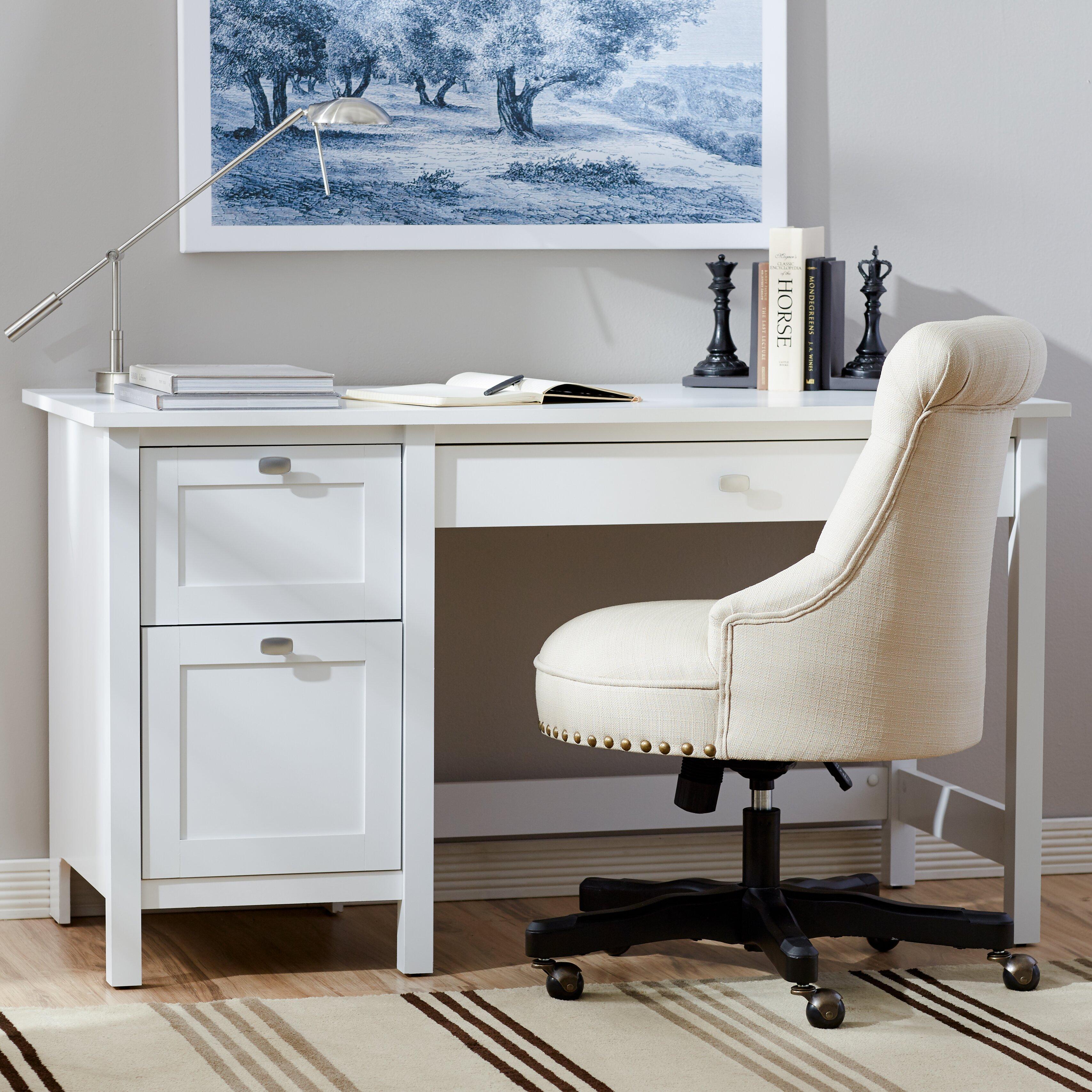 three posts ackerson pedestal computer desk reviews