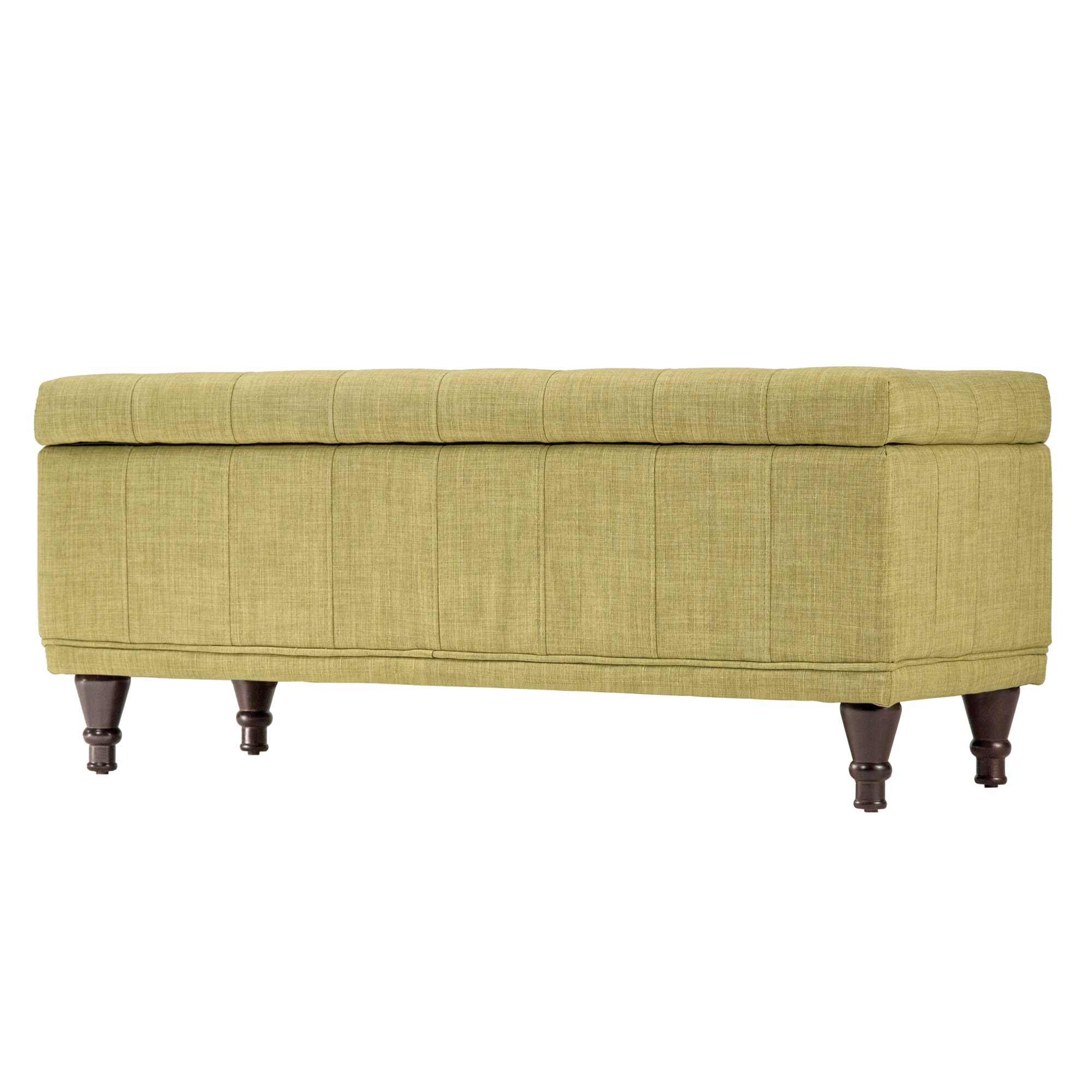 Three Posts Southampton Upholstered Storage Bedroom Bench