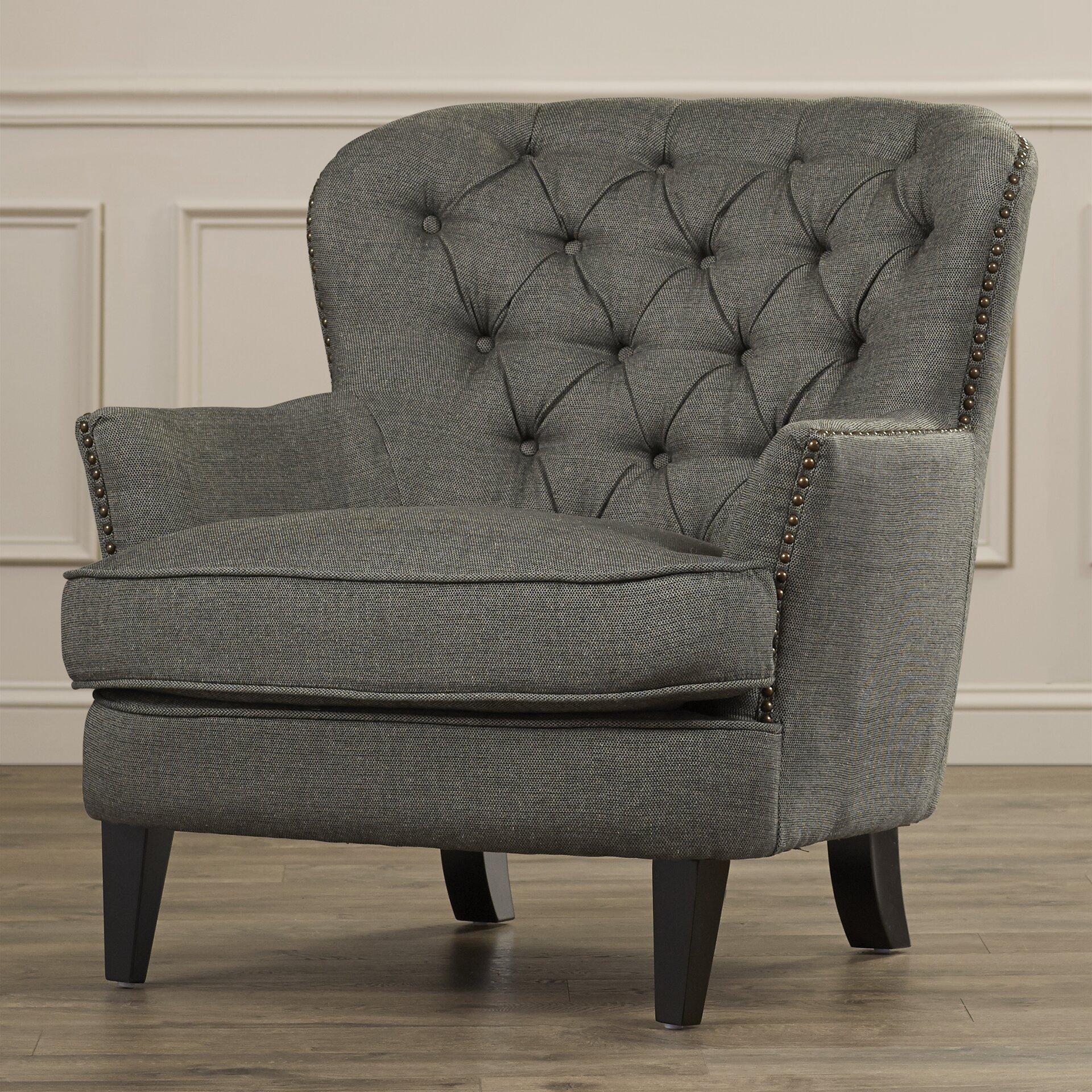 Three Posts Landisburg Tufted Club Chair & Reviews