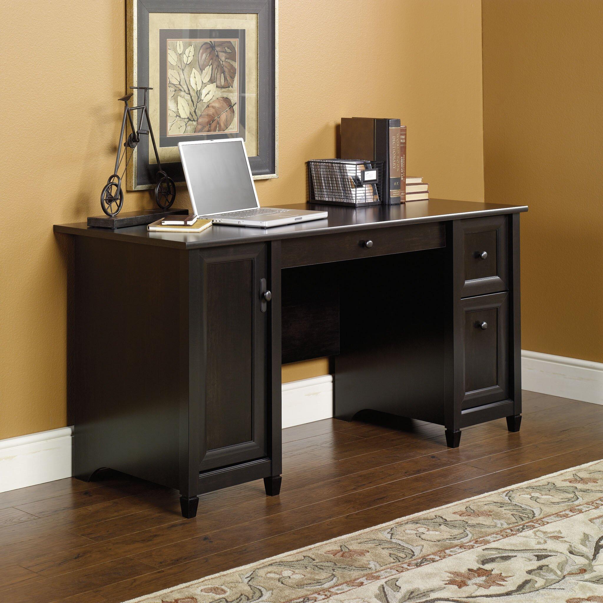 three posts lamantia 2 drawer computer desk with keyboard. Black Bedroom Furniture Sets. Home Design Ideas