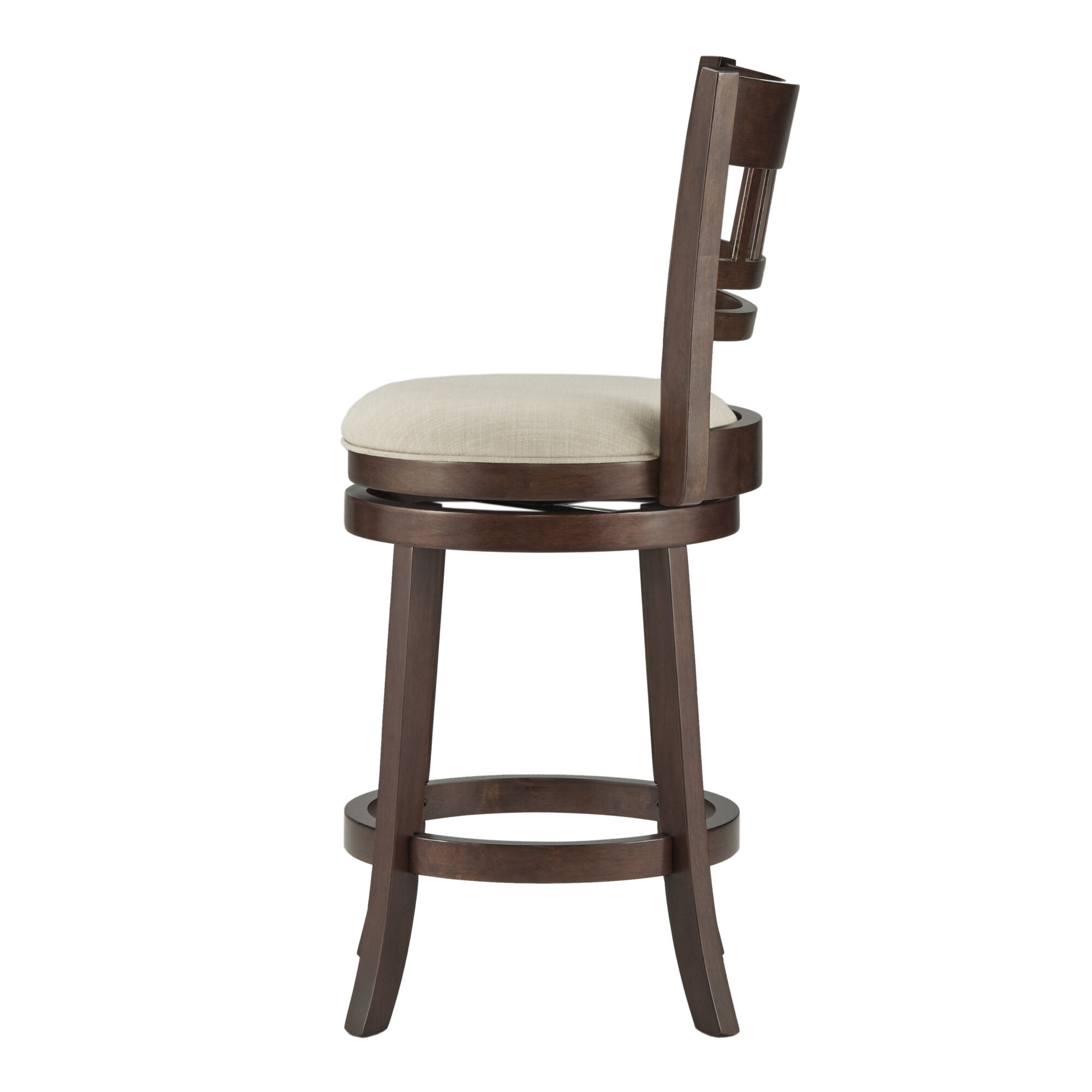Three Posts Heartwood 24 Quot Swivel Bar Stool Amp Reviews Wayfair