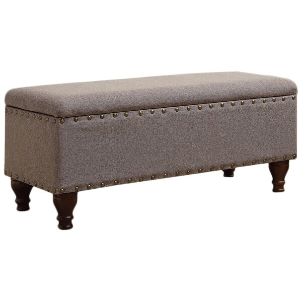 Three Posts Polycarp Storage Ottoman Reviews: Three Posts Lattimer Upholstered Storage Entryway Bench