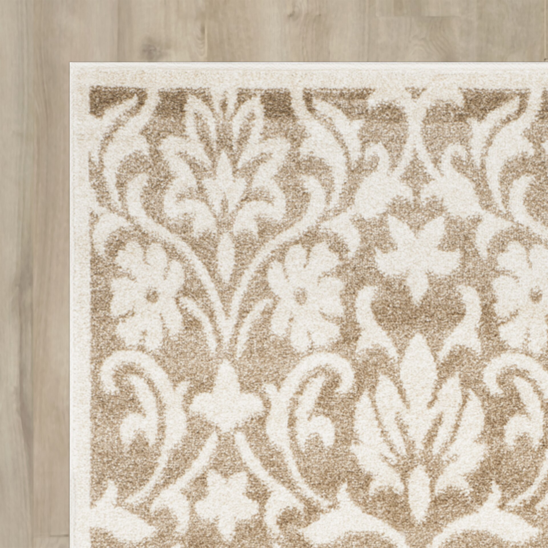 Three Posts Barron Beige Indoor Outdoor Area Rug & Reviews