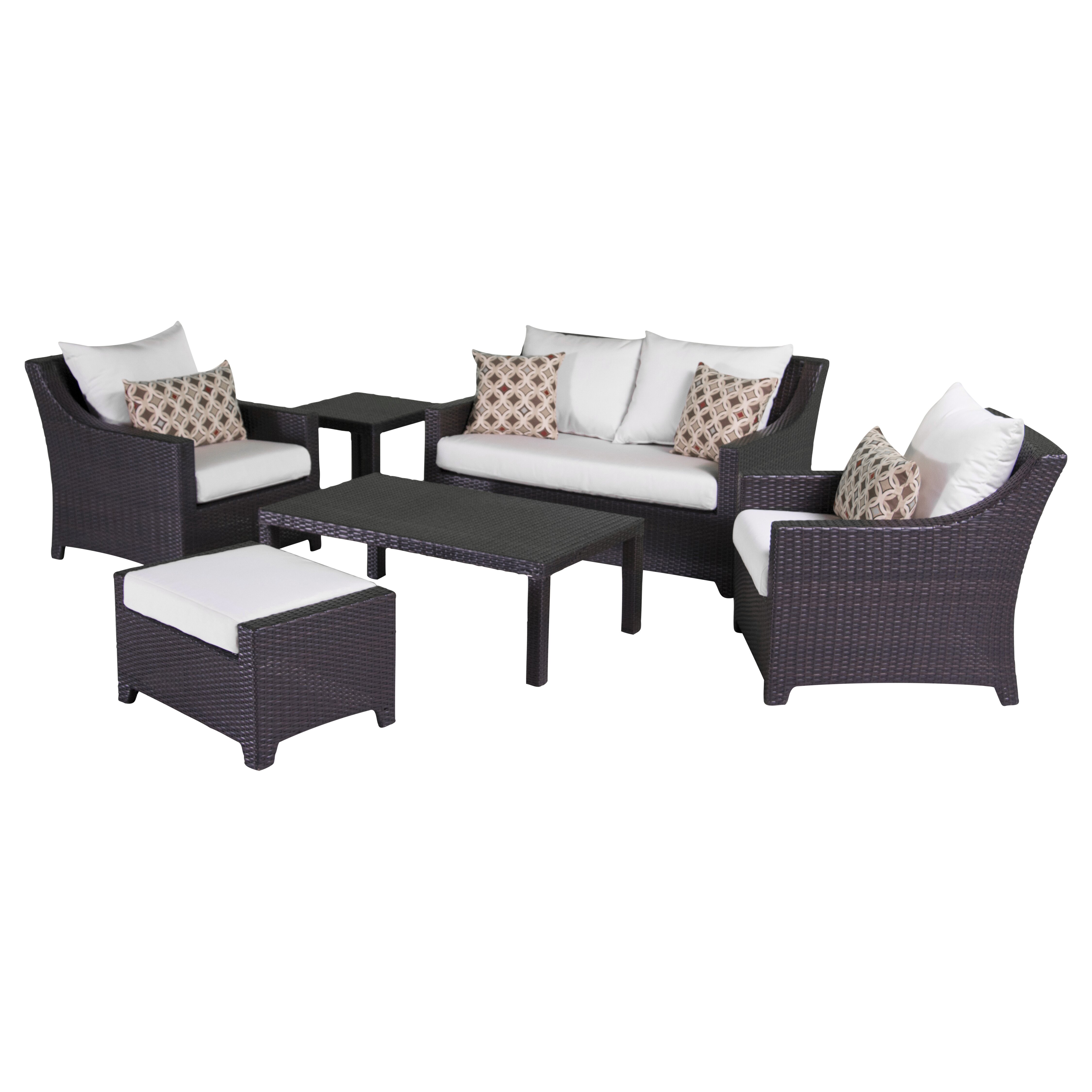 Ahmad 6 Piece Deep Seating Group With Cushions