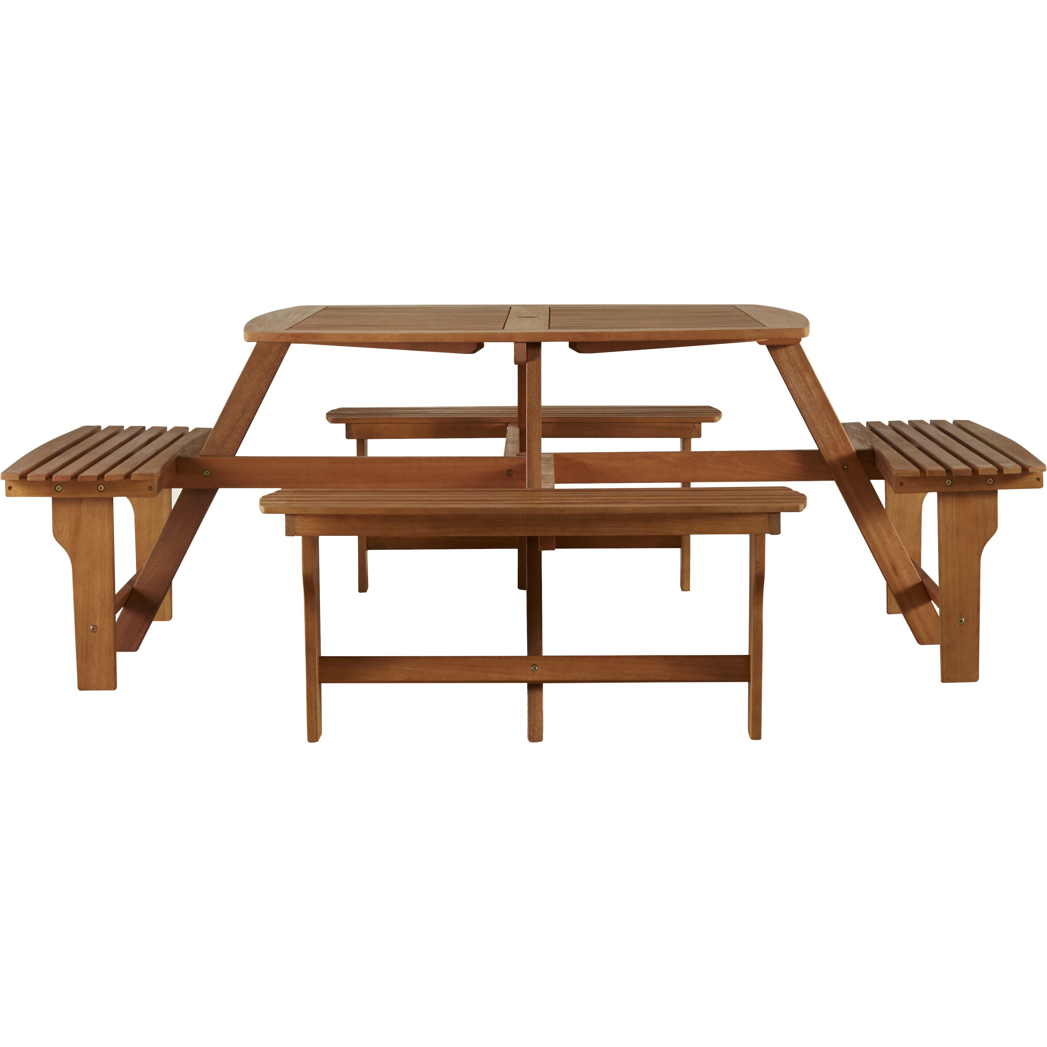 Picnic Table Set : ... Posts Brasstown 5 Piece Wood Picnic Table Set & Reviews  Wayfair