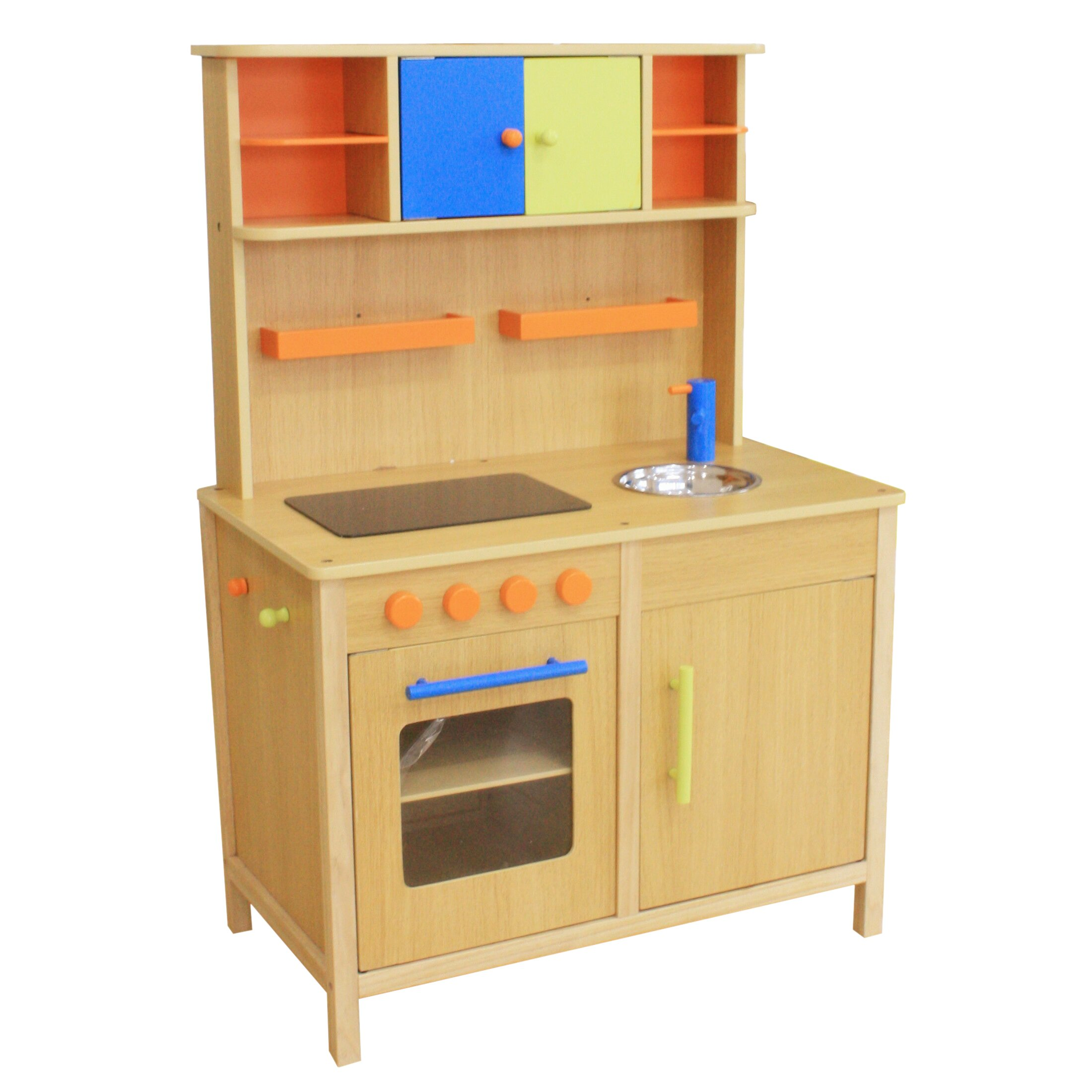 Wood Play Kitchen: Lots Of Fun Wooden Play Kitchen