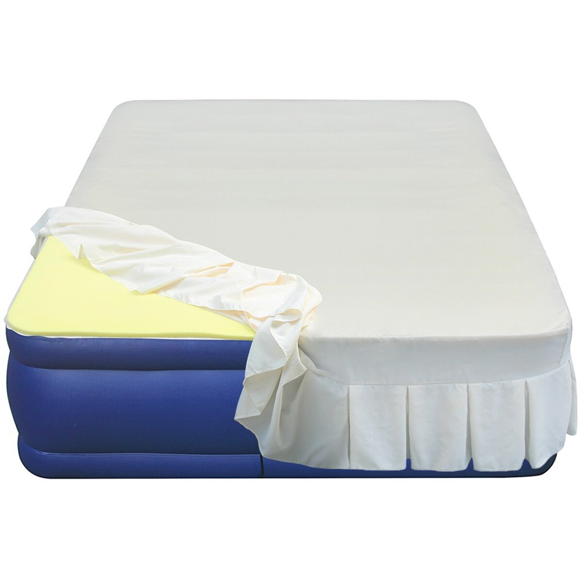 Essentials airbed high 1 density memory foam mattress topper wayfair Mattress sale memory foam