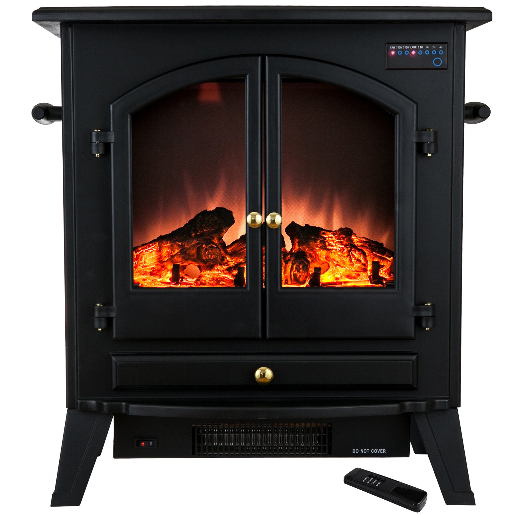 AKDY Freestanding Electric Fireplace & Reviews