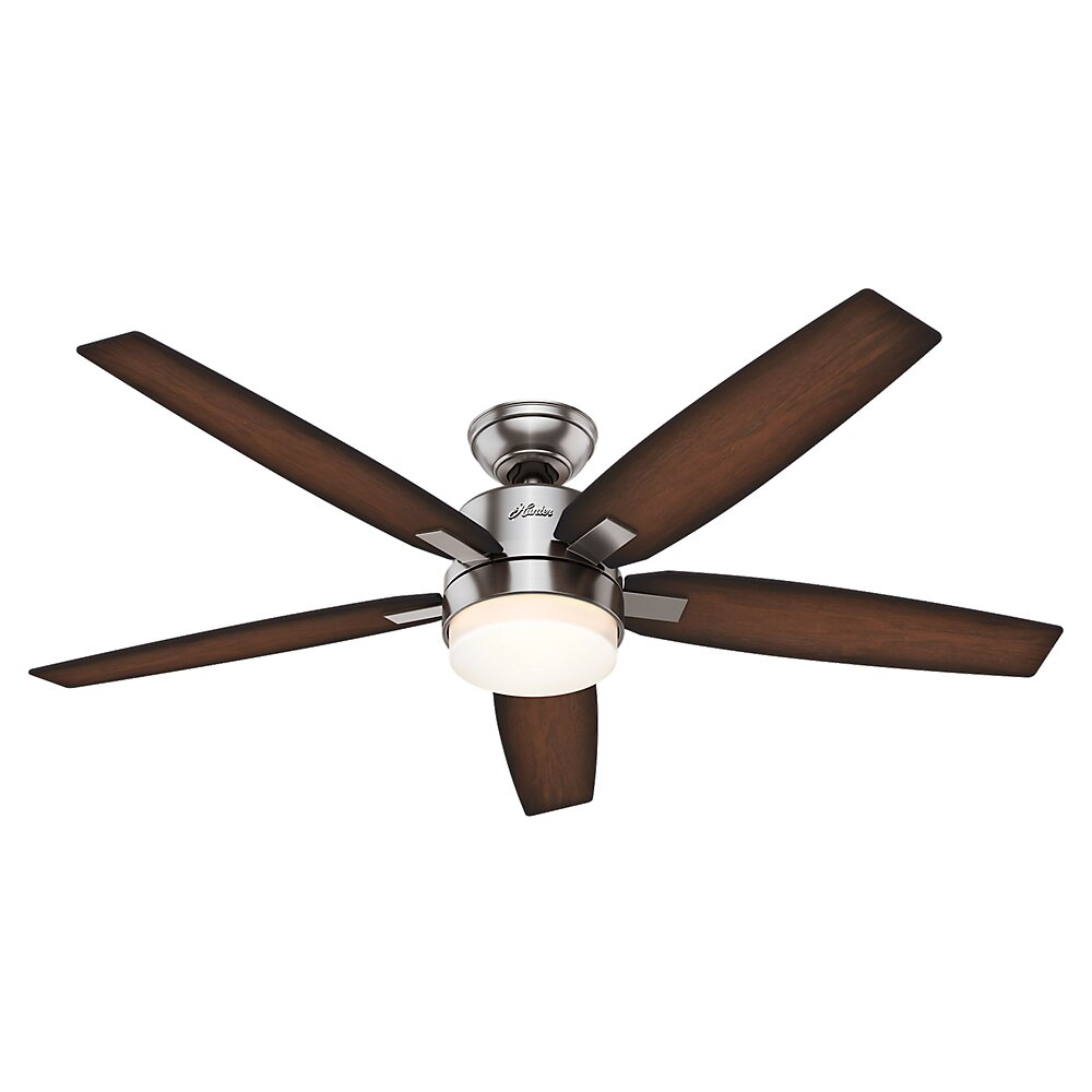 """Hunter Fans 54"""" Windemere 5 Blade Ceiling Fan with Remote"""