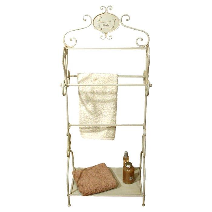 freistehender 52 cm handtuchhalter von ch teau chic. Black Bedroom Furniture Sets. Home Design Ideas