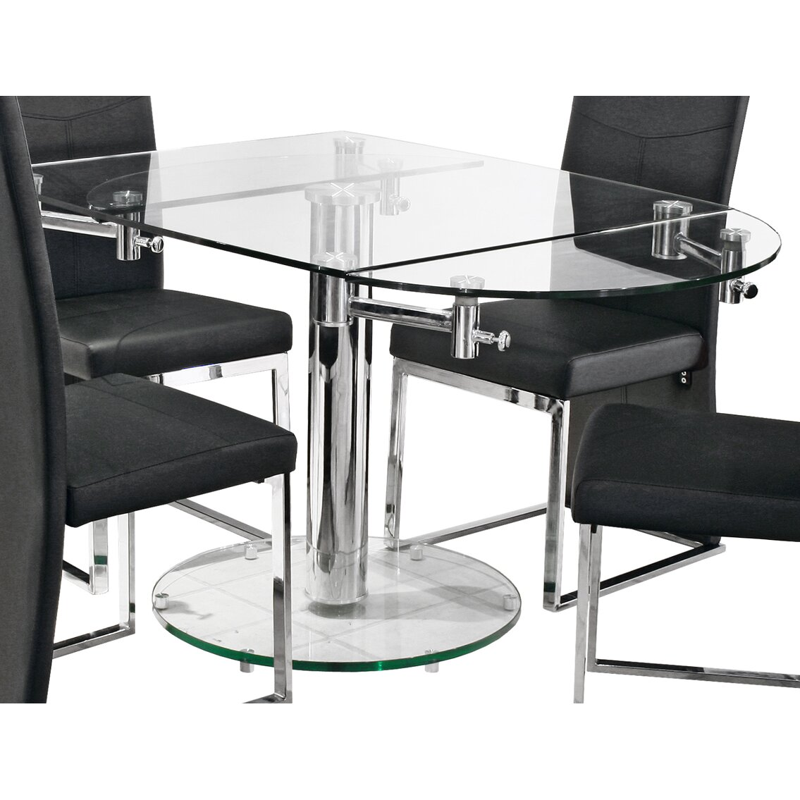 House Additions Extendable Dining Table amp Reviews Wayfair UK : Extendable Dining Table FEB2102 from www.wayfair.co.uk size 1135 x 1135 jpeg 130kB