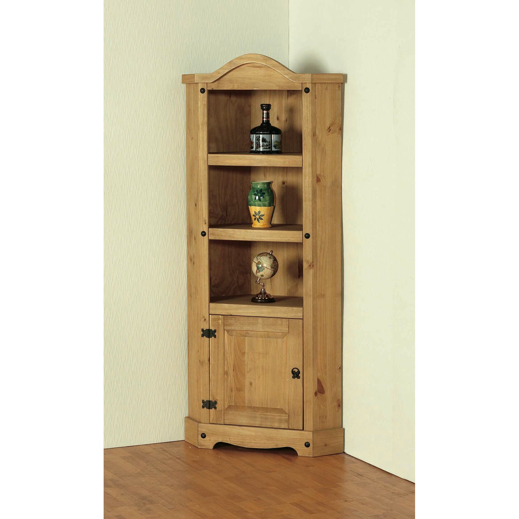 Home & Haus Brigite Corner Display Cabinet & Reviews