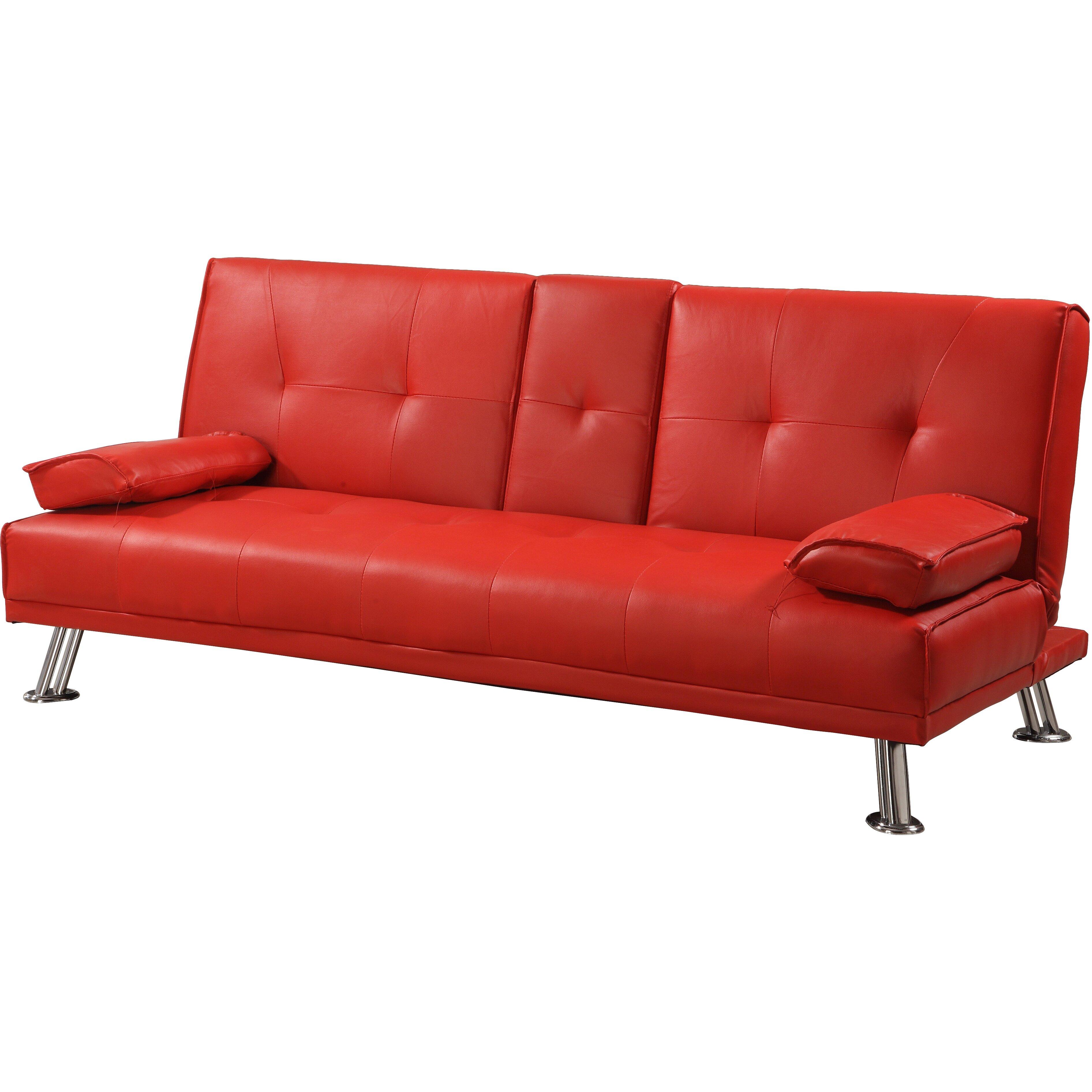 3 seater clic clac sofa wayfair uk - Divan clic clac ikea ...