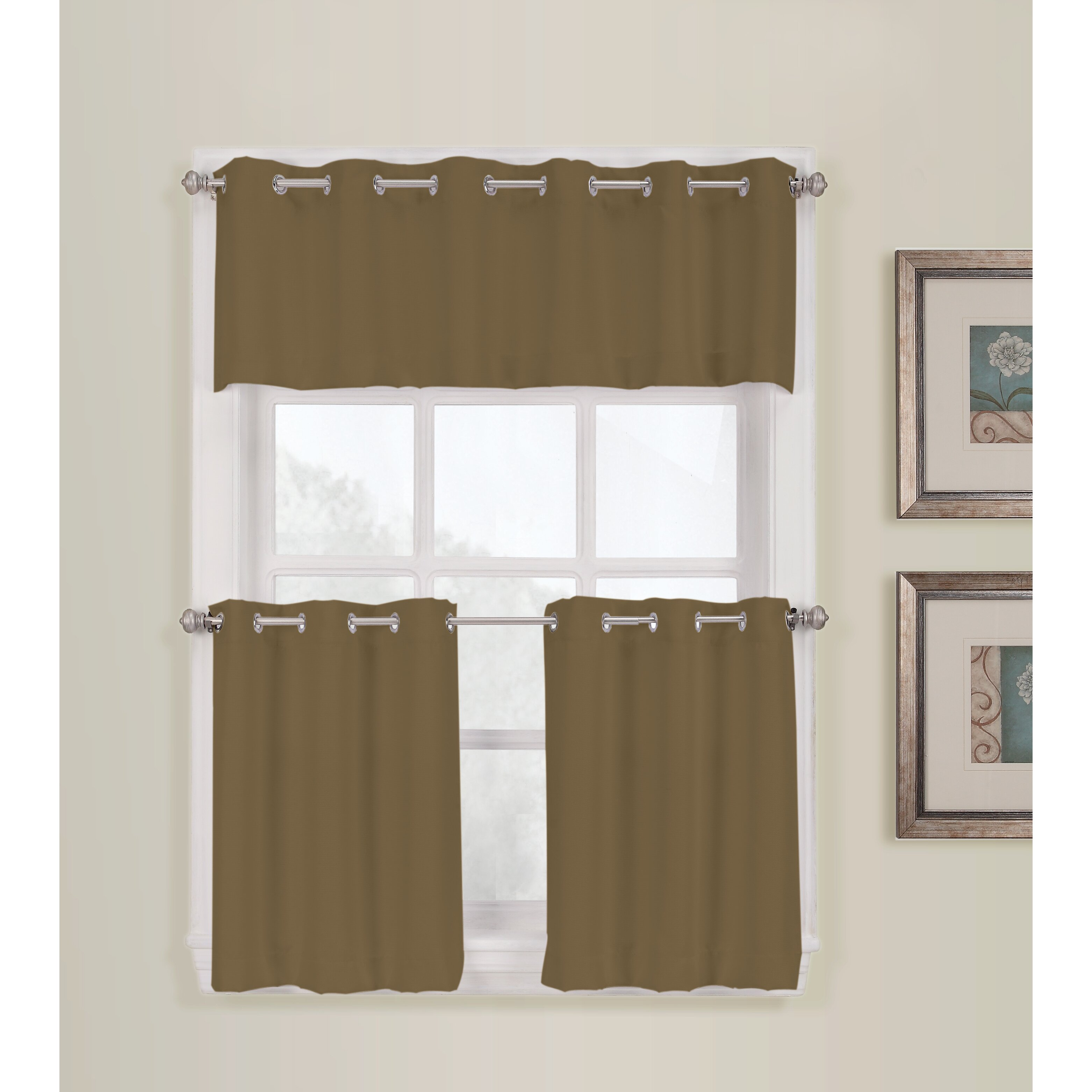 grommet treatments class astonishing touch of patterned curtains valance window sheer