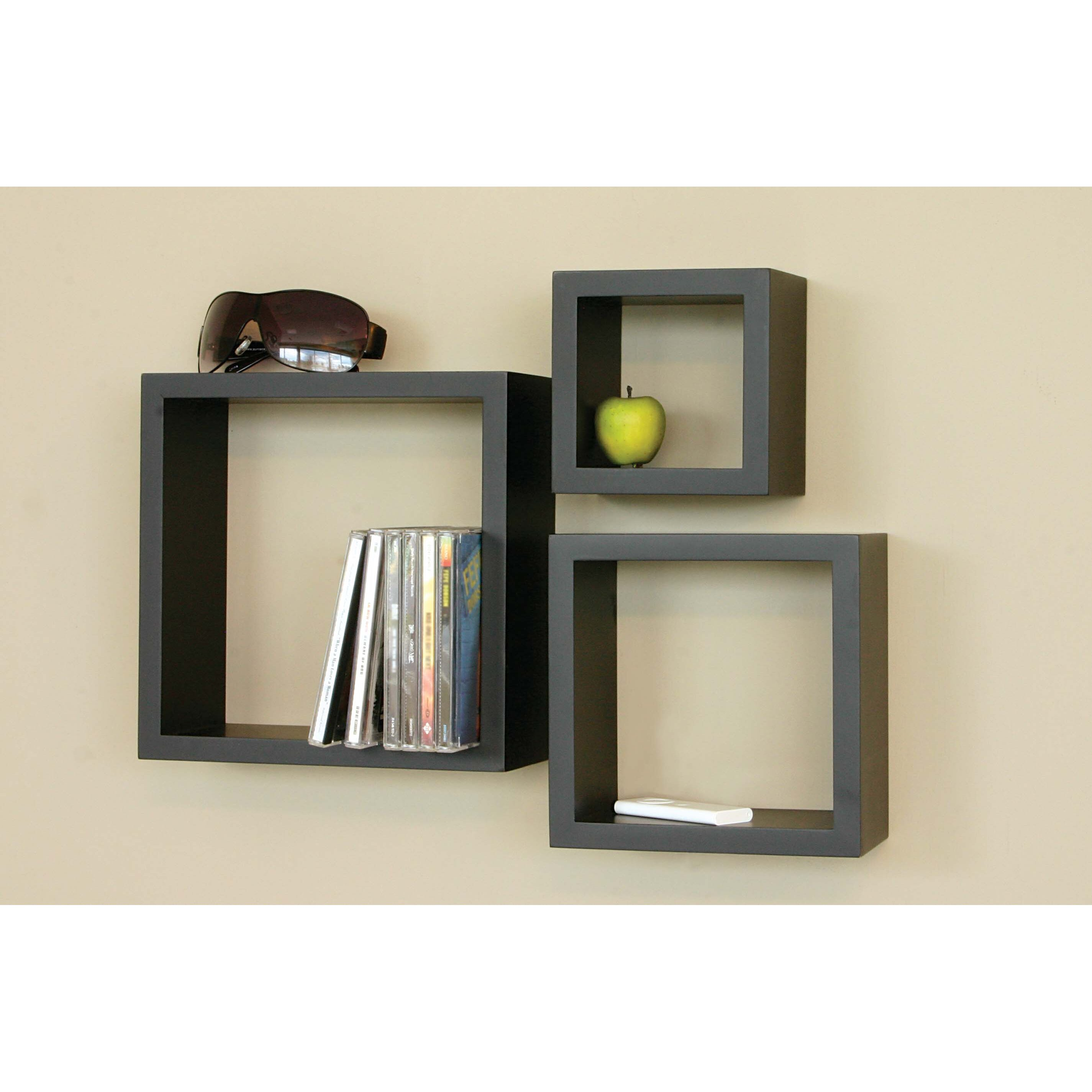 Modern Wall Mounted Bookshelves simple shelf system that offers a lot of room for books 20