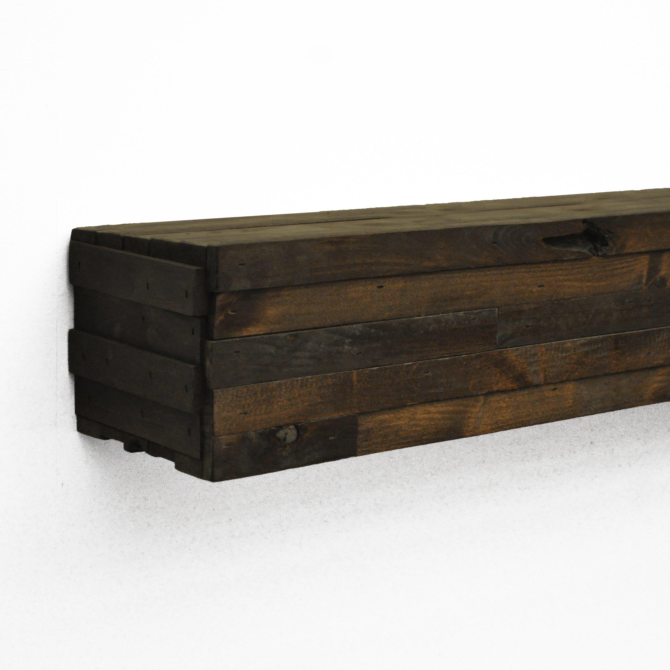 Modern fireplace mantel shelf wayfair - Beneficial contemporary fireplace mantel shelves ...