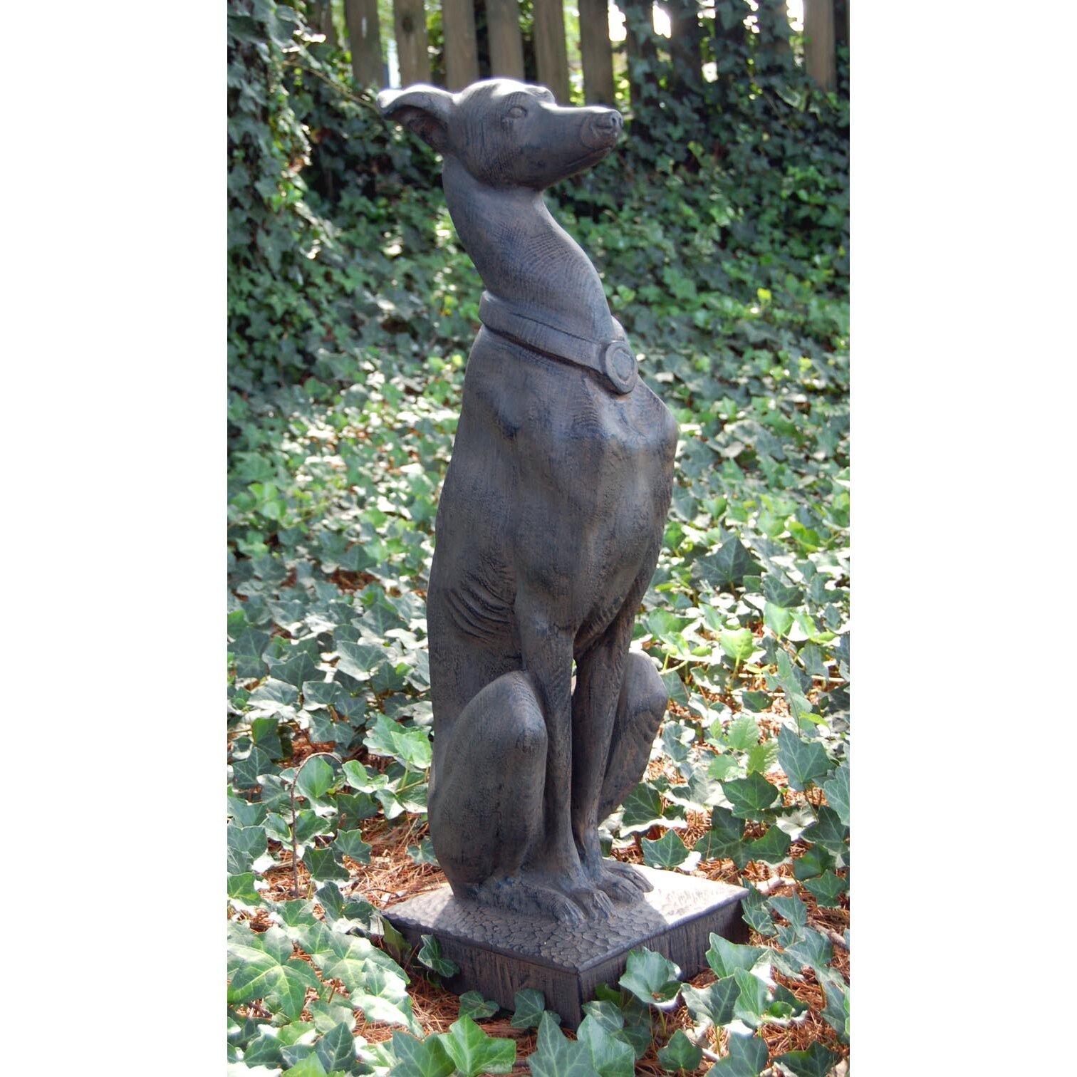 Wayfair Garden Statues: Whippet Statue