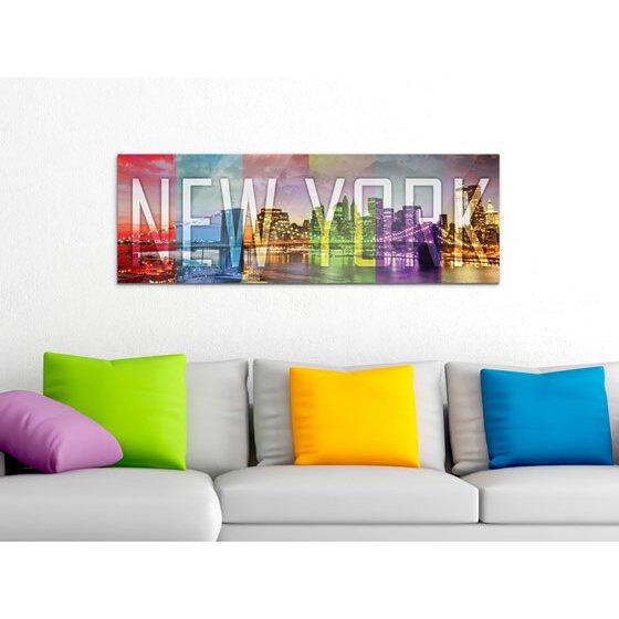 acrylglasbild new york skyline von graz design. Black Bedroom Furniture Sets. Home Design Ideas