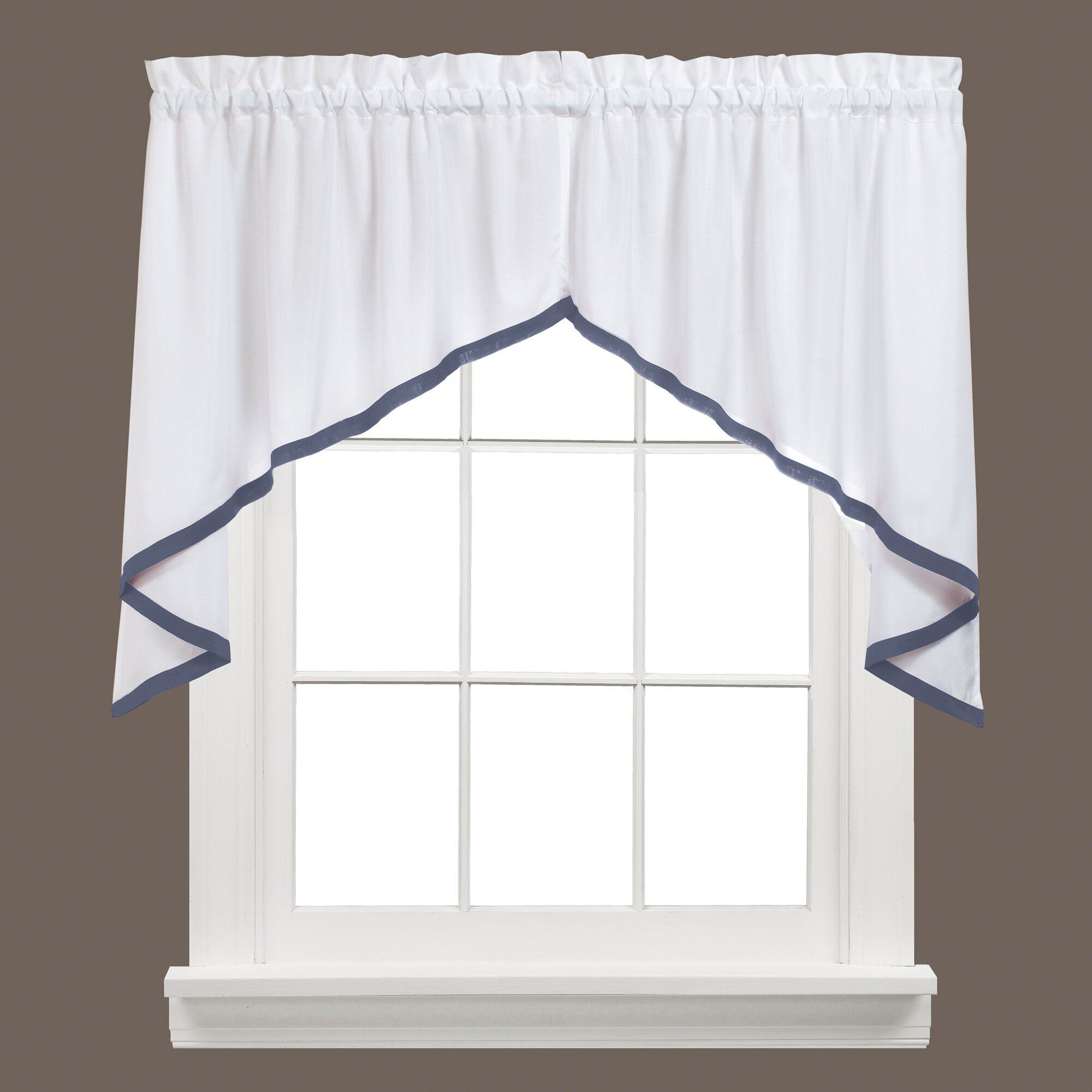 saturday knight ltd kate swag curtain valance
