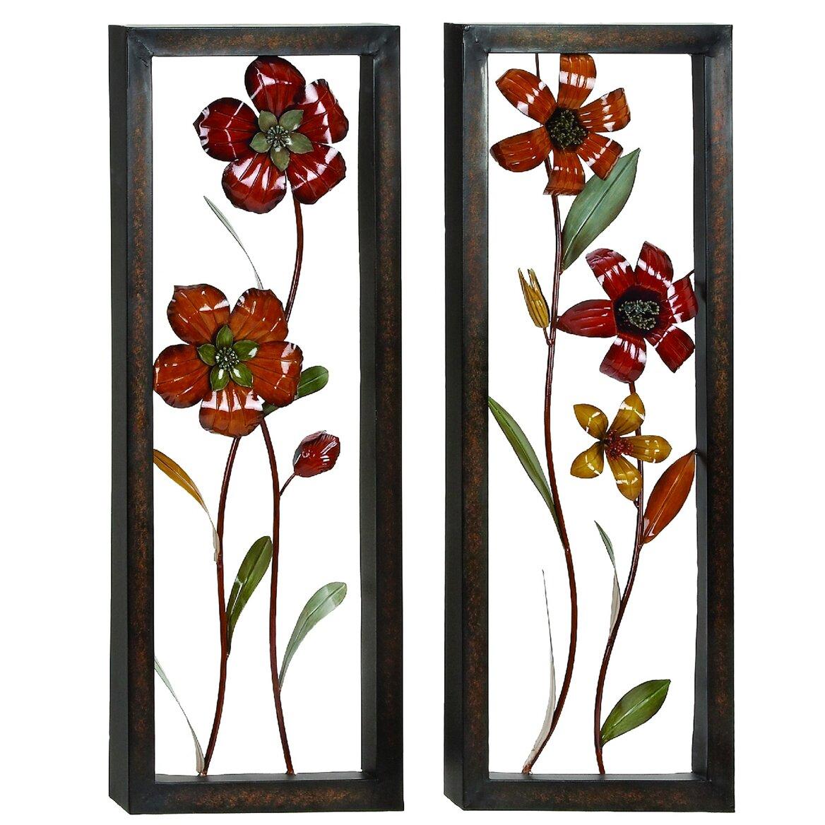 Urban Designs Floral Bloom Pop Out Wall D Cor Wayfair