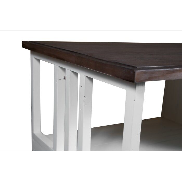 Coffee table for 3 sided dining room table
