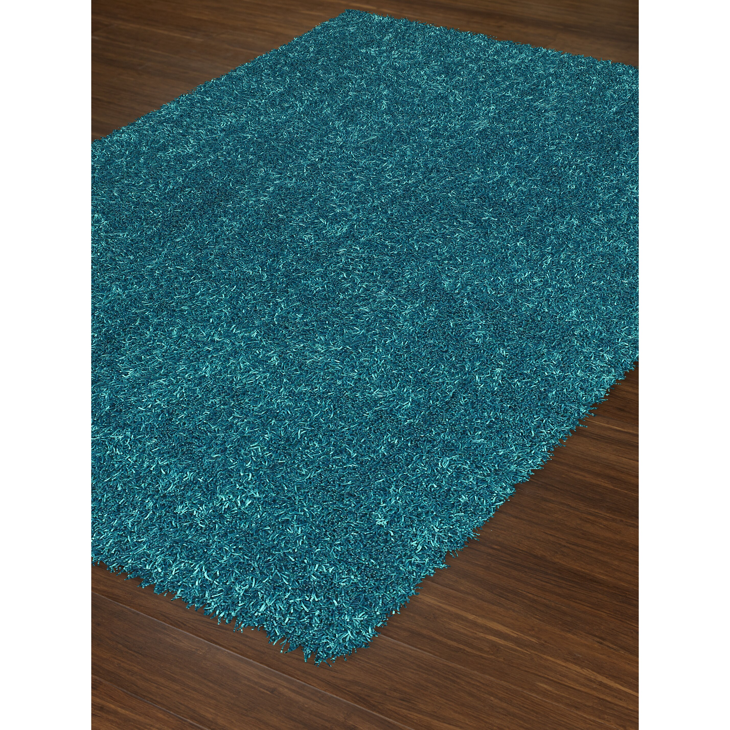 Bright Lights Teal Area Rug